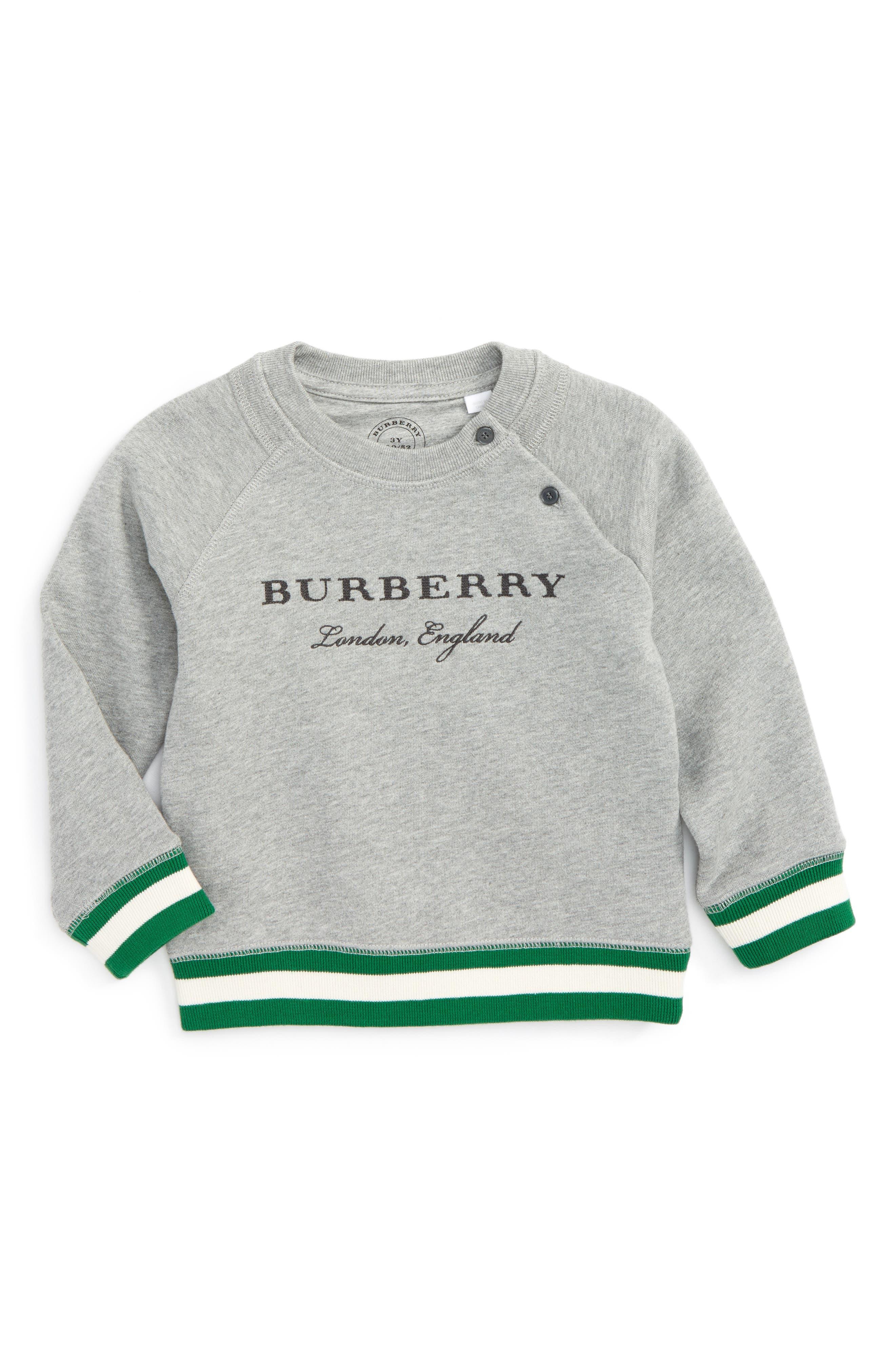Stanley Logo Sweatshirt,                             Main thumbnail 1, color,                             Grey Melange
