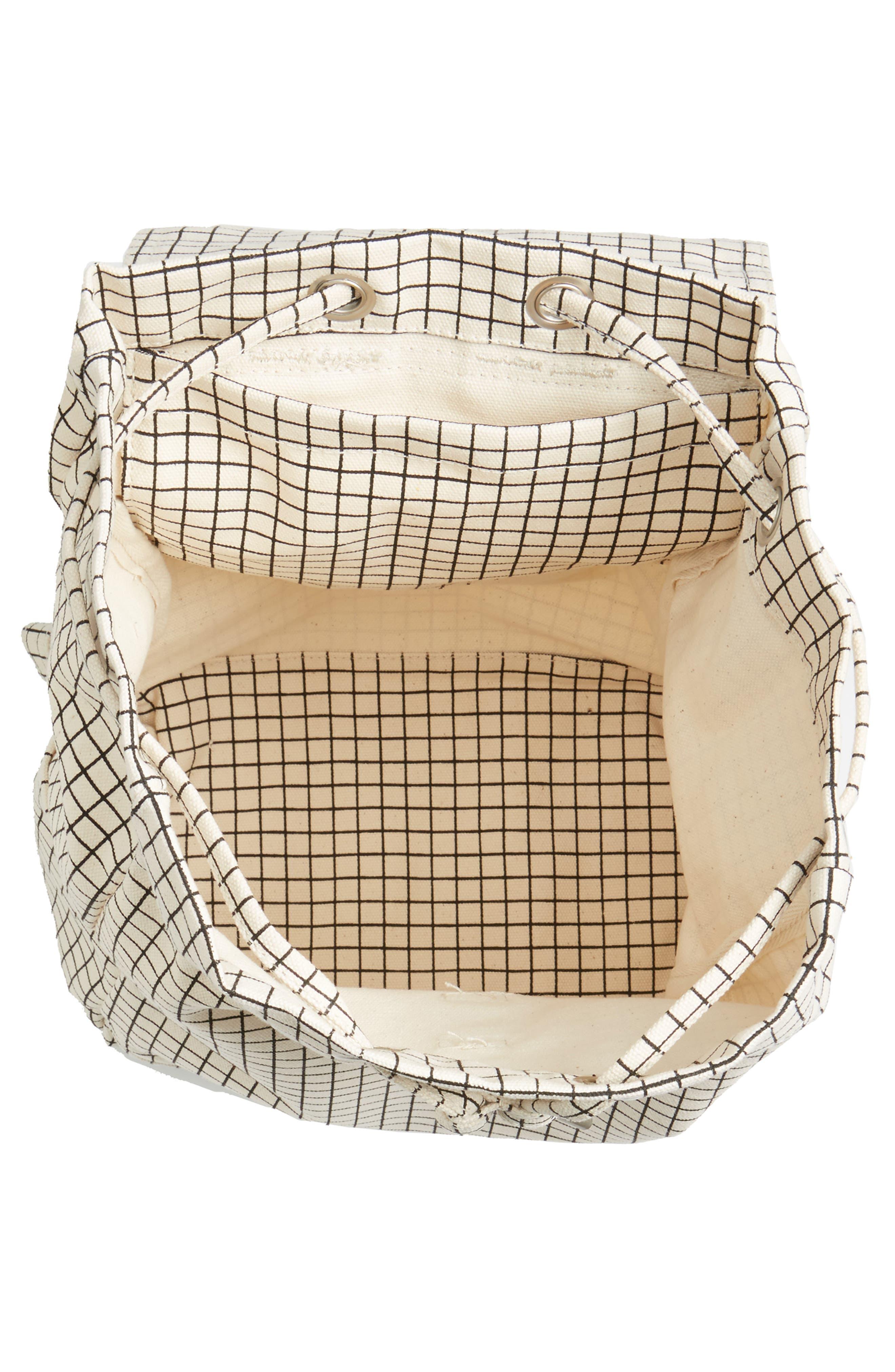 Alternate Image 4  - Baggu Drawstring Canvas Backpack