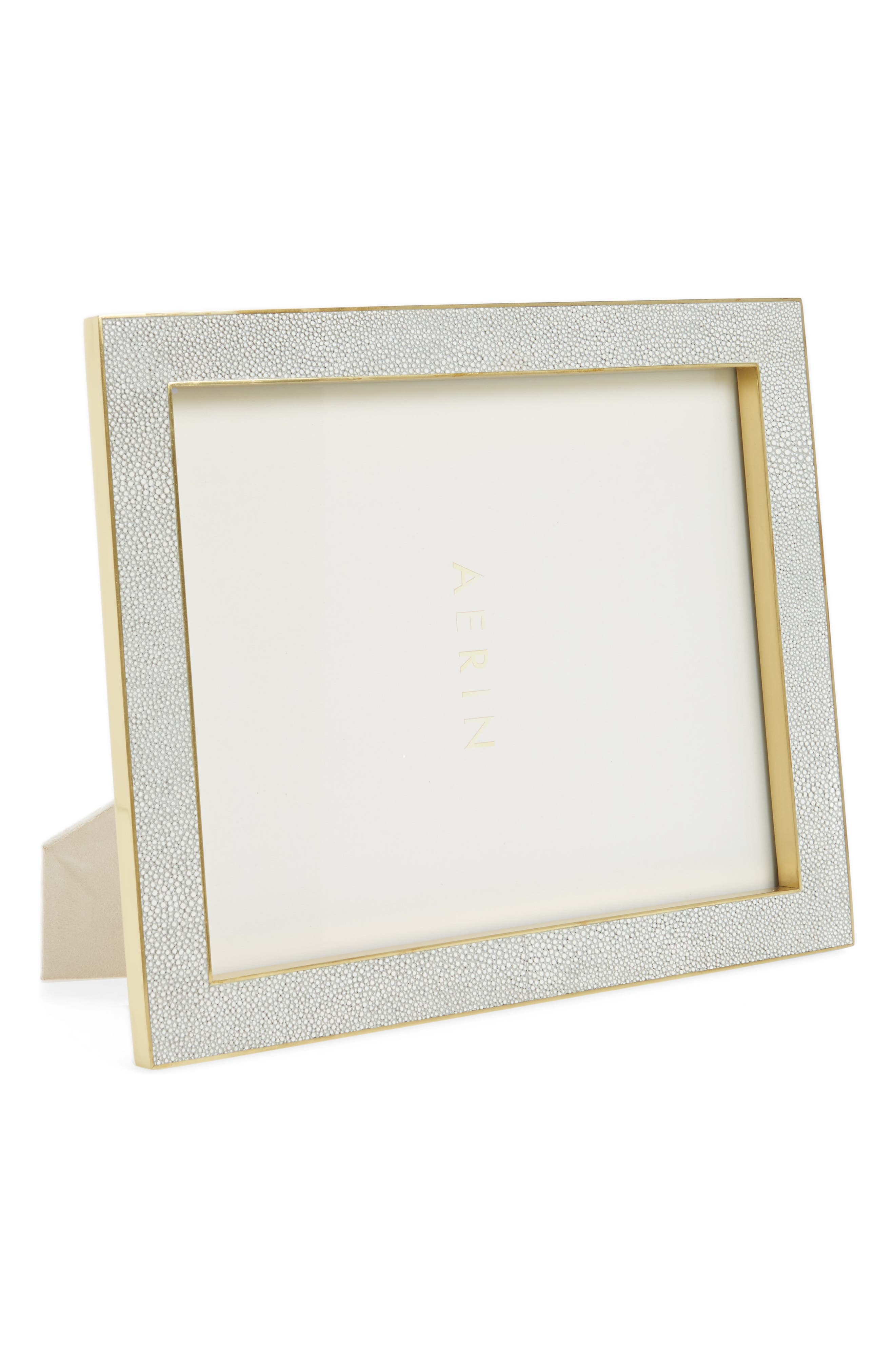 Classic Shagreen Picture Frame,                             Main thumbnail 1, color,                             Dove