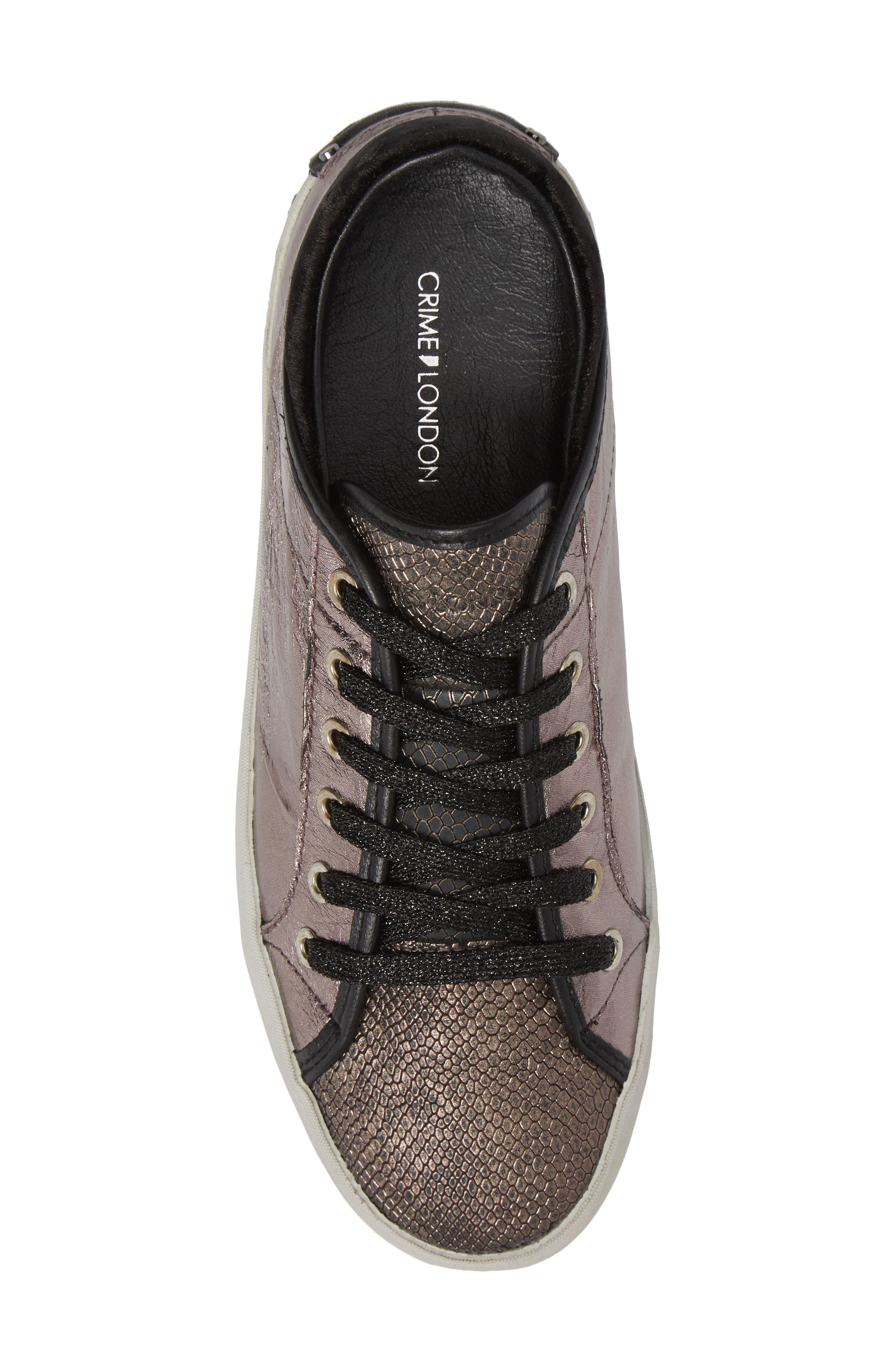 Faith Sneaker,                             Alternate thumbnail 5, color,                             Silver - 23