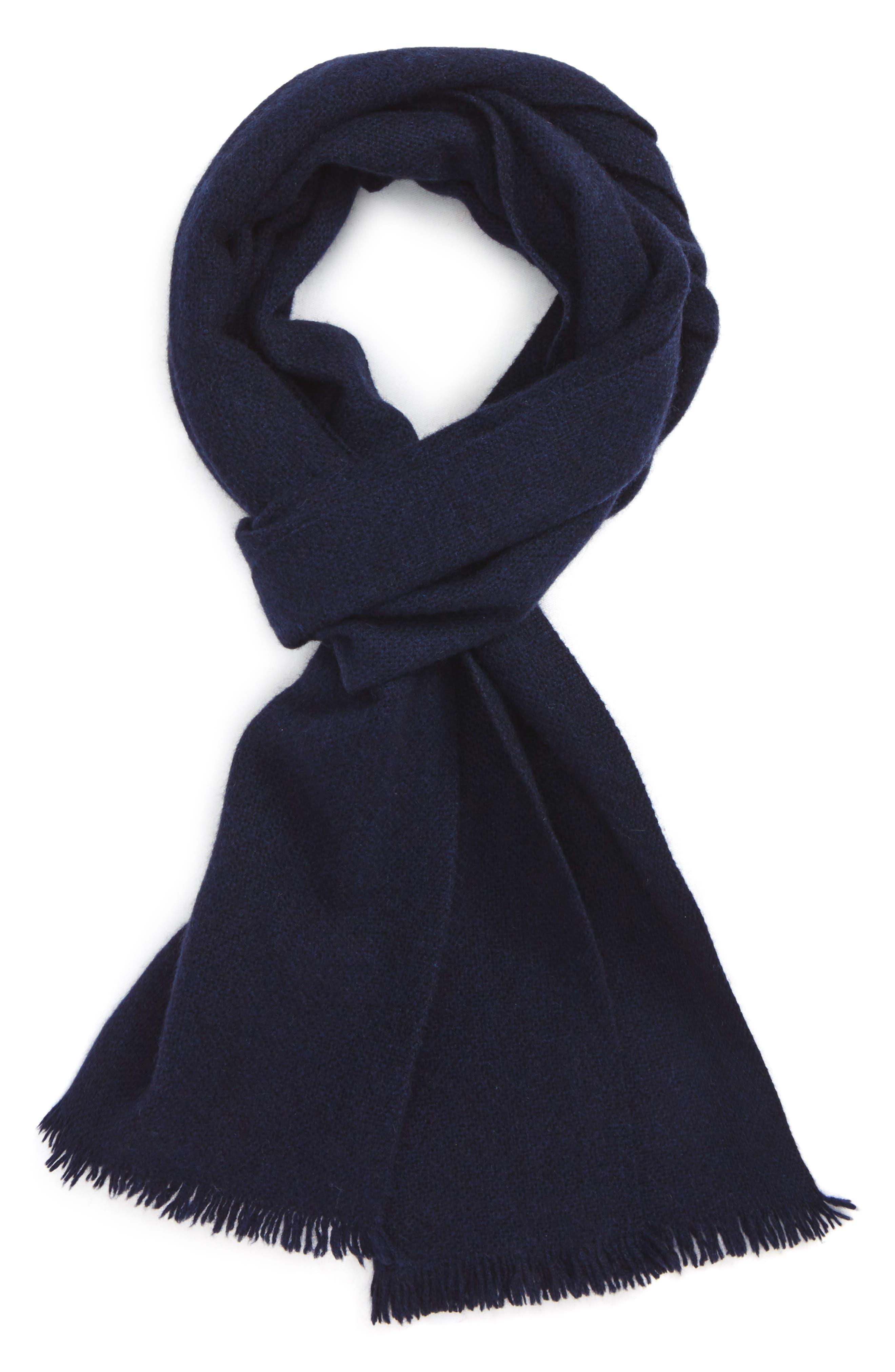 Main Image - Nordstrom Men's Shop Solid Cashmere Scarf