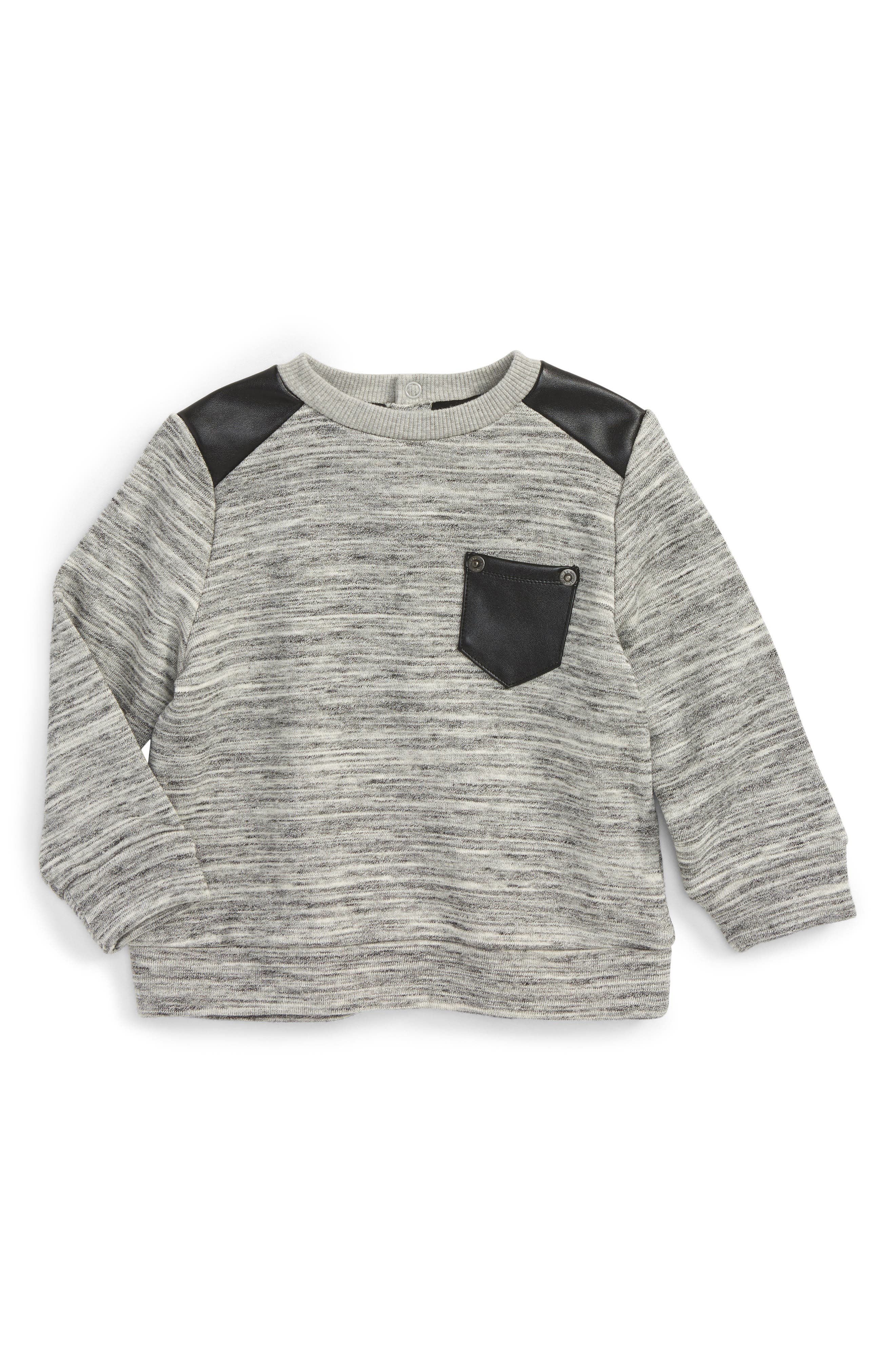 Bardot Junior Moto Sweater (Baby Boys & Toddler Boys)