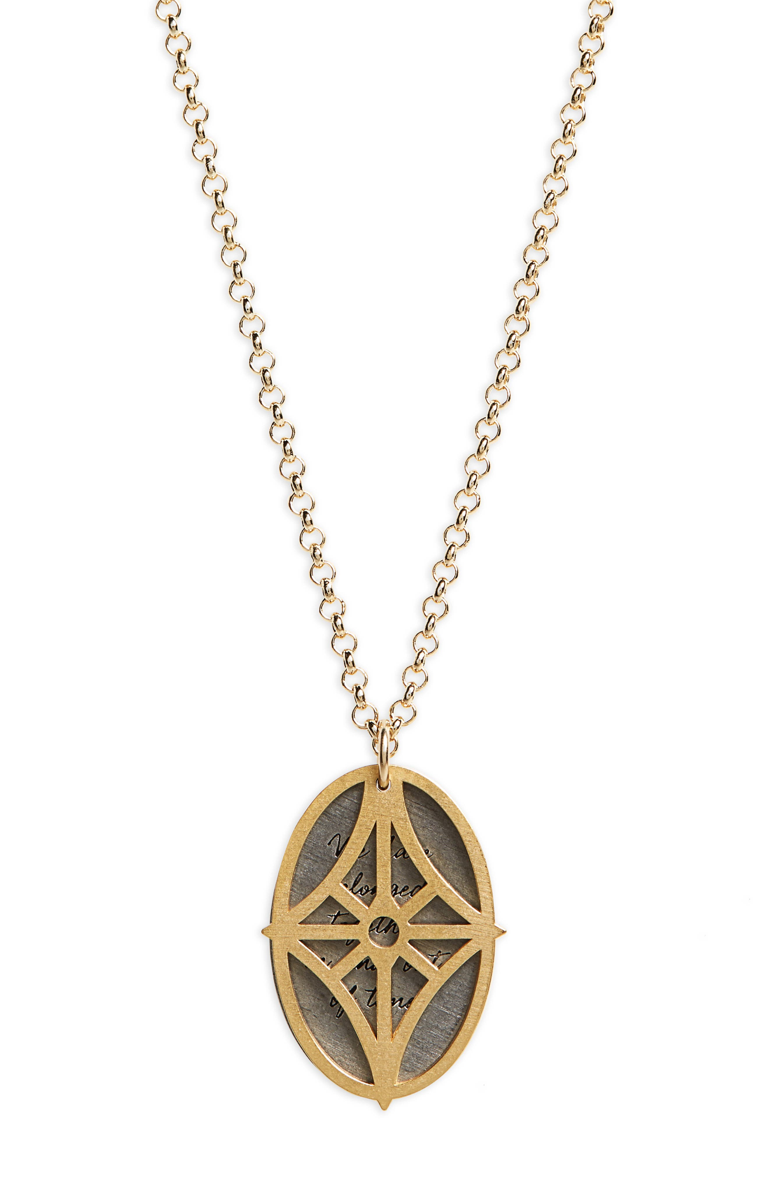 Alternate Image 3  - Dogeared Legacy - We Have Belonged Together Tiered Pendant Necklace