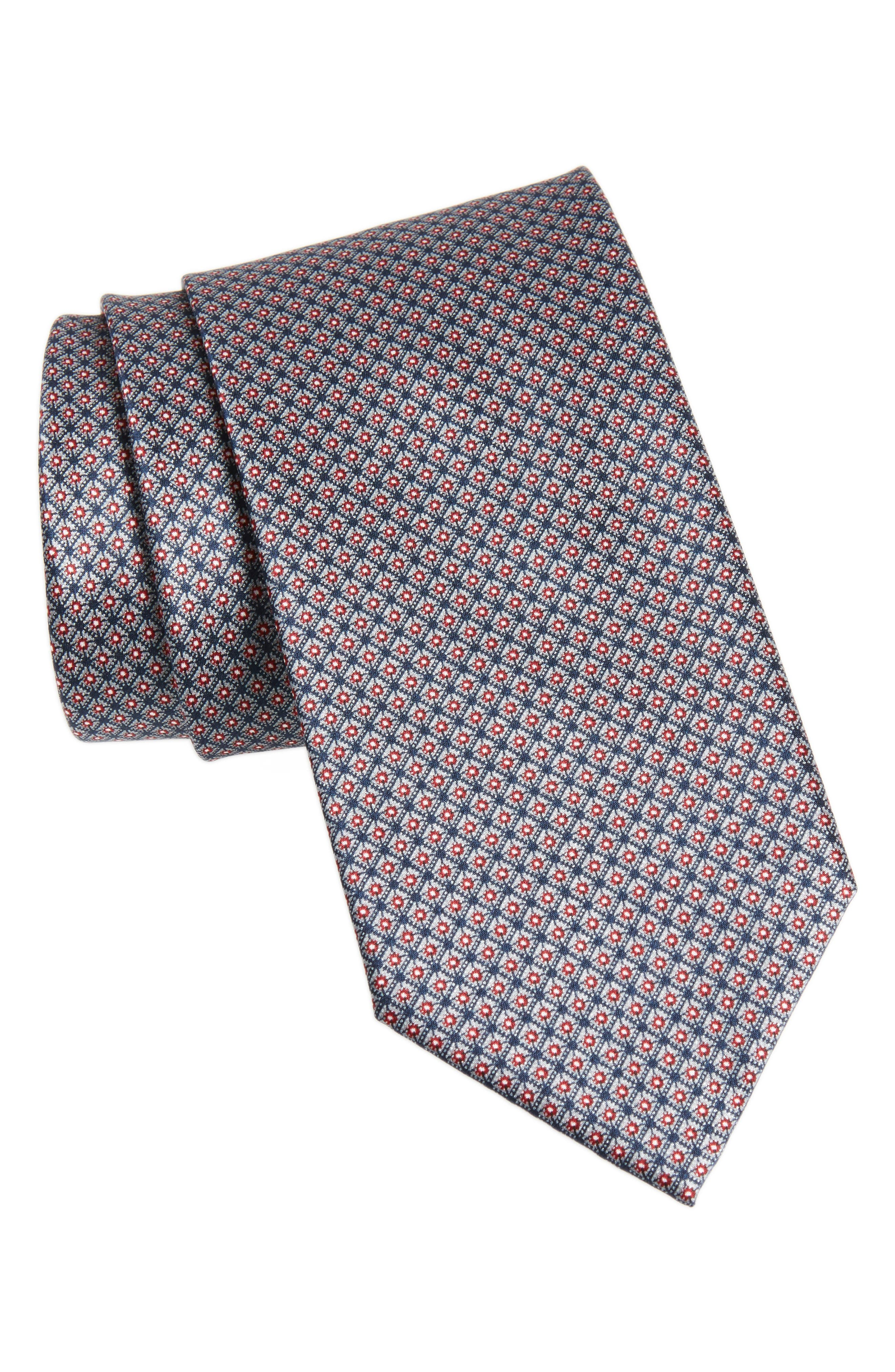 Main Image - Brioni Neat Silk Tie