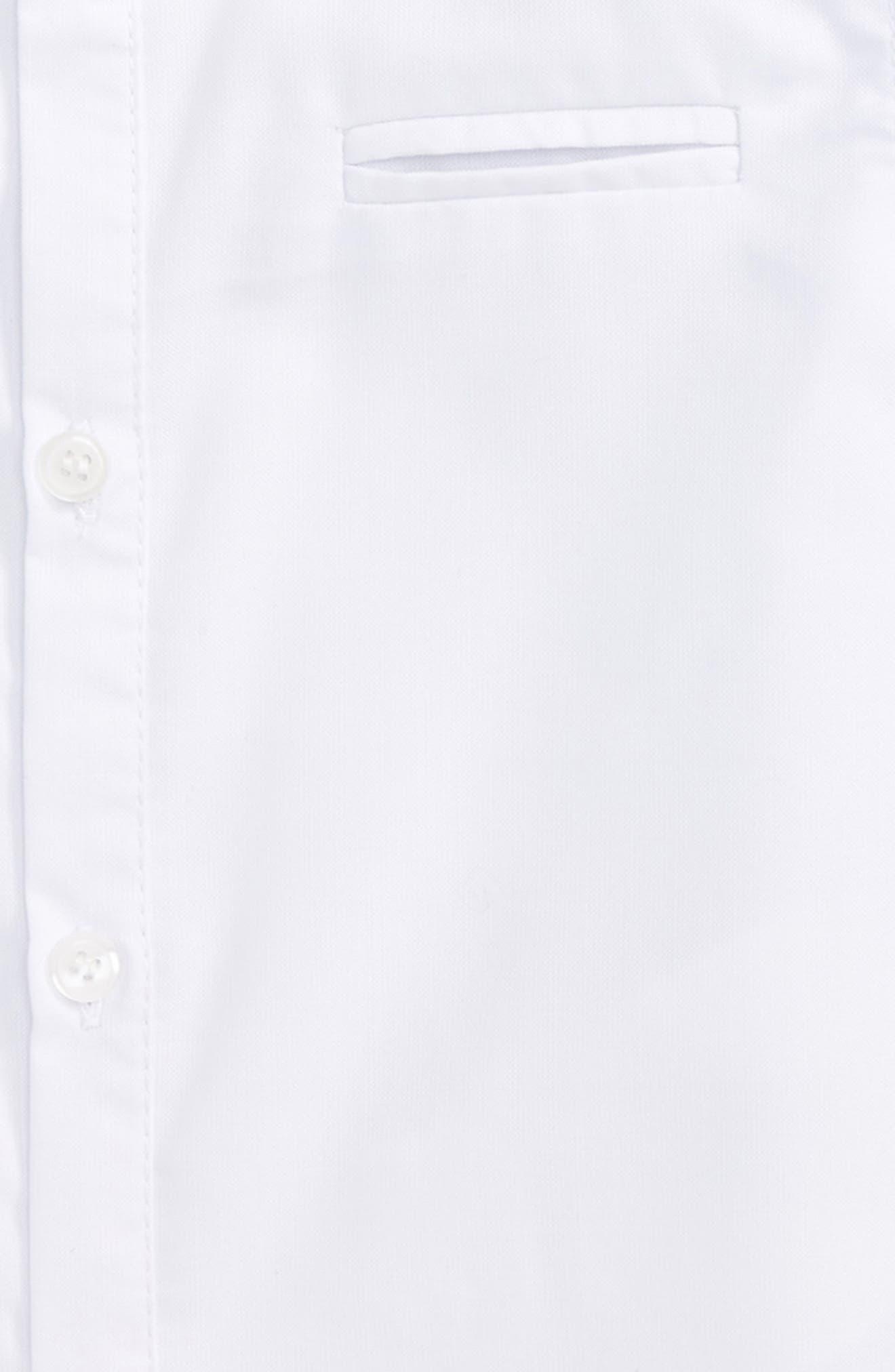 Woven Shirt,                             Alternate thumbnail 2, color,                             White
