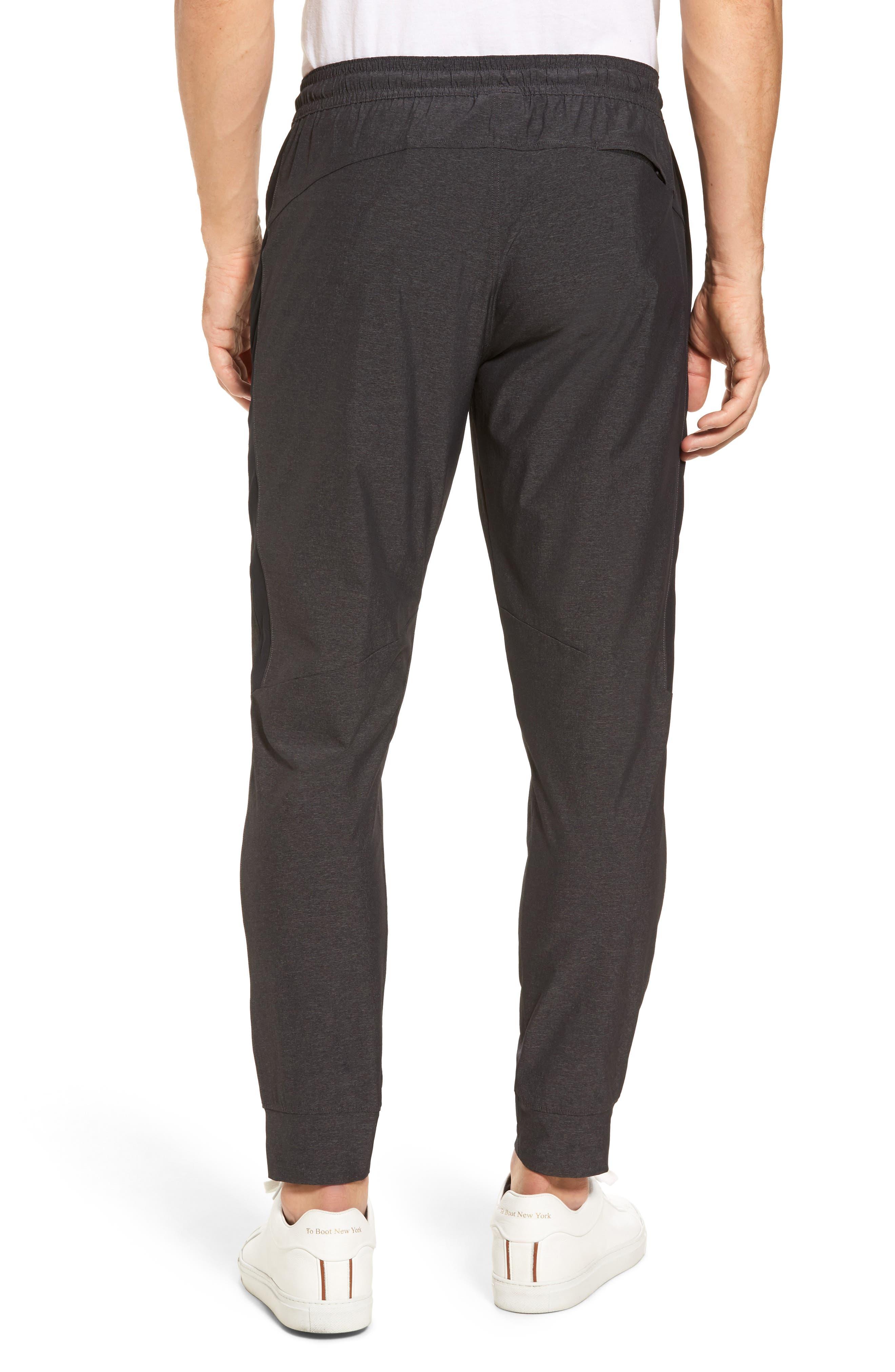 Zip Pocket Sweatpants,                             Alternate thumbnail 2, color,                             Grey Ebony Melange