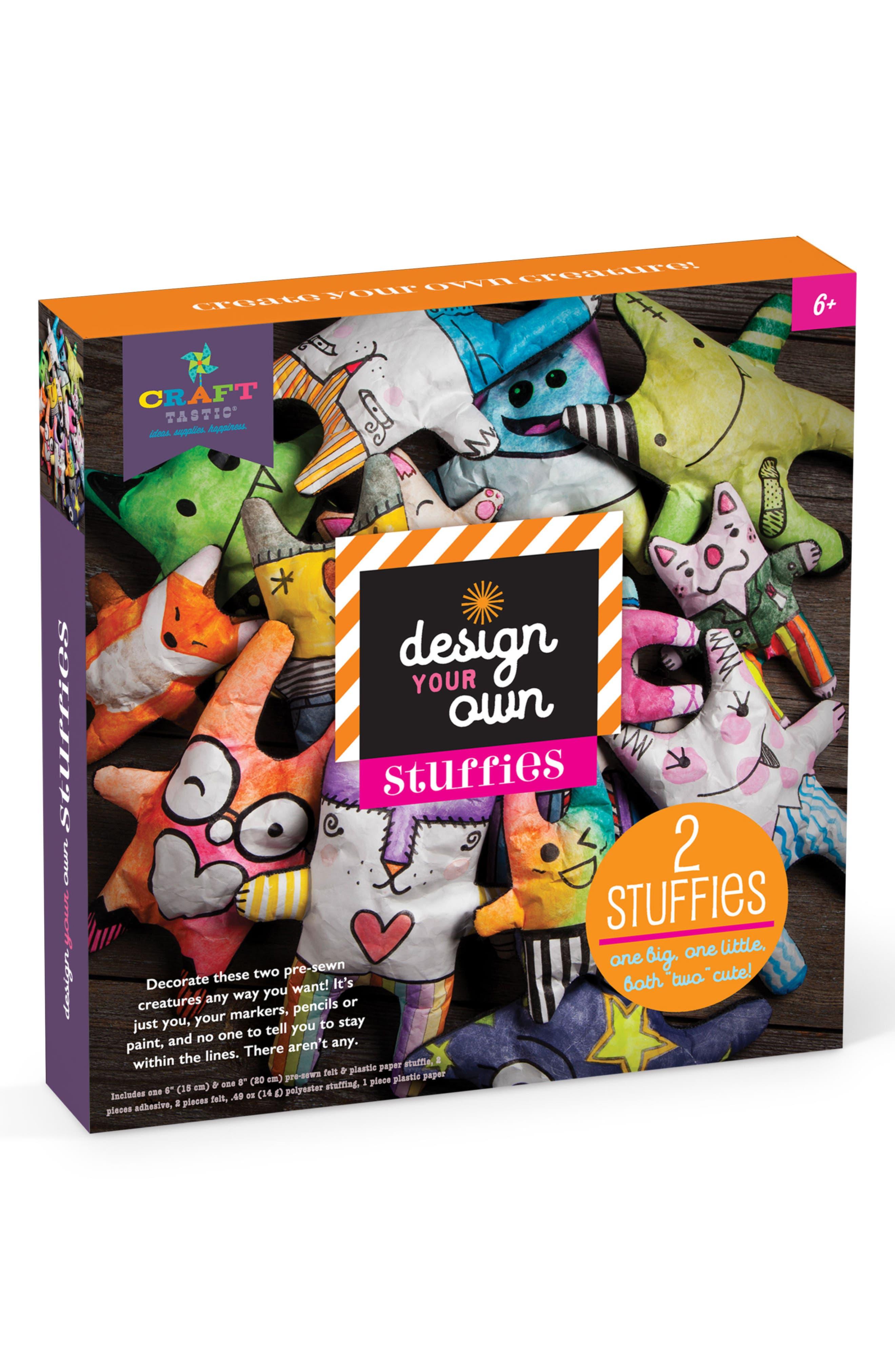 Design Your Own Stuffies Kit,                         Main,                         color, Purple