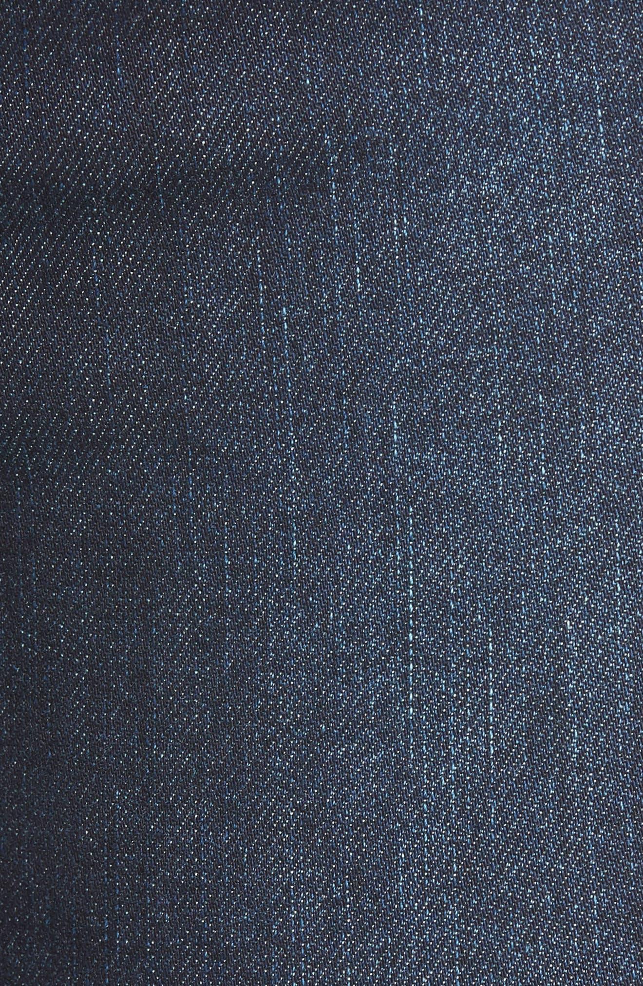 Alternate Image 5  - AFRM Clark High Waist Skinny Jeans (Rebel Wash)