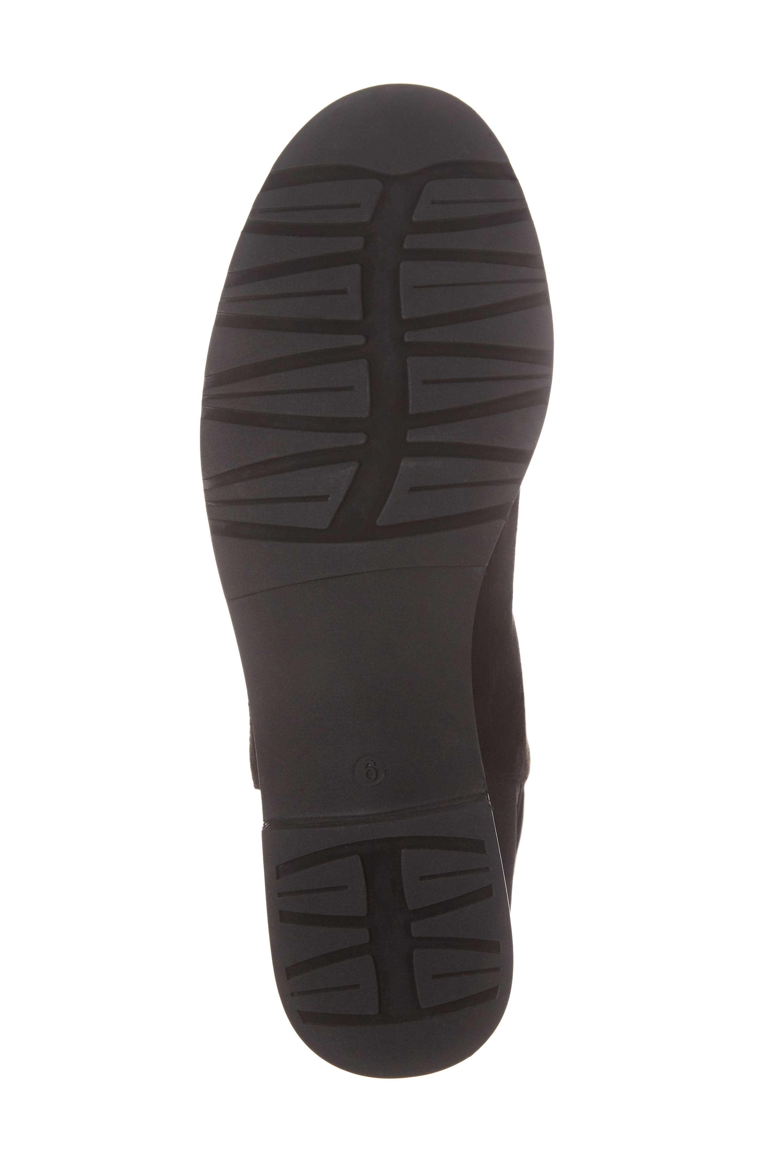 Panache Tall Boot,                             Alternate thumbnail 6, color,                             Black Suede