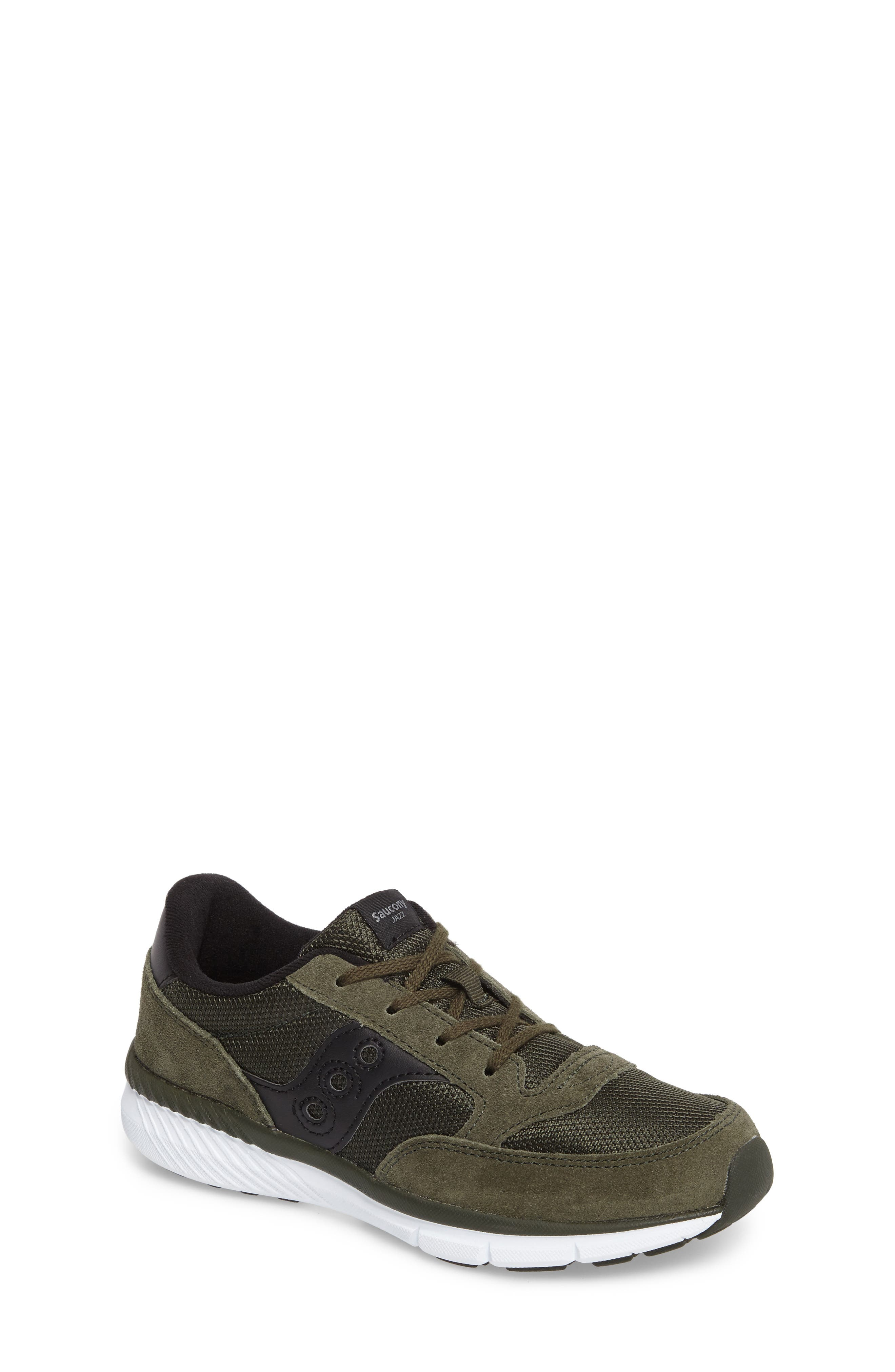 Jazz Lite Sneaker,                             Main thumbnail 1, color,                             Olive