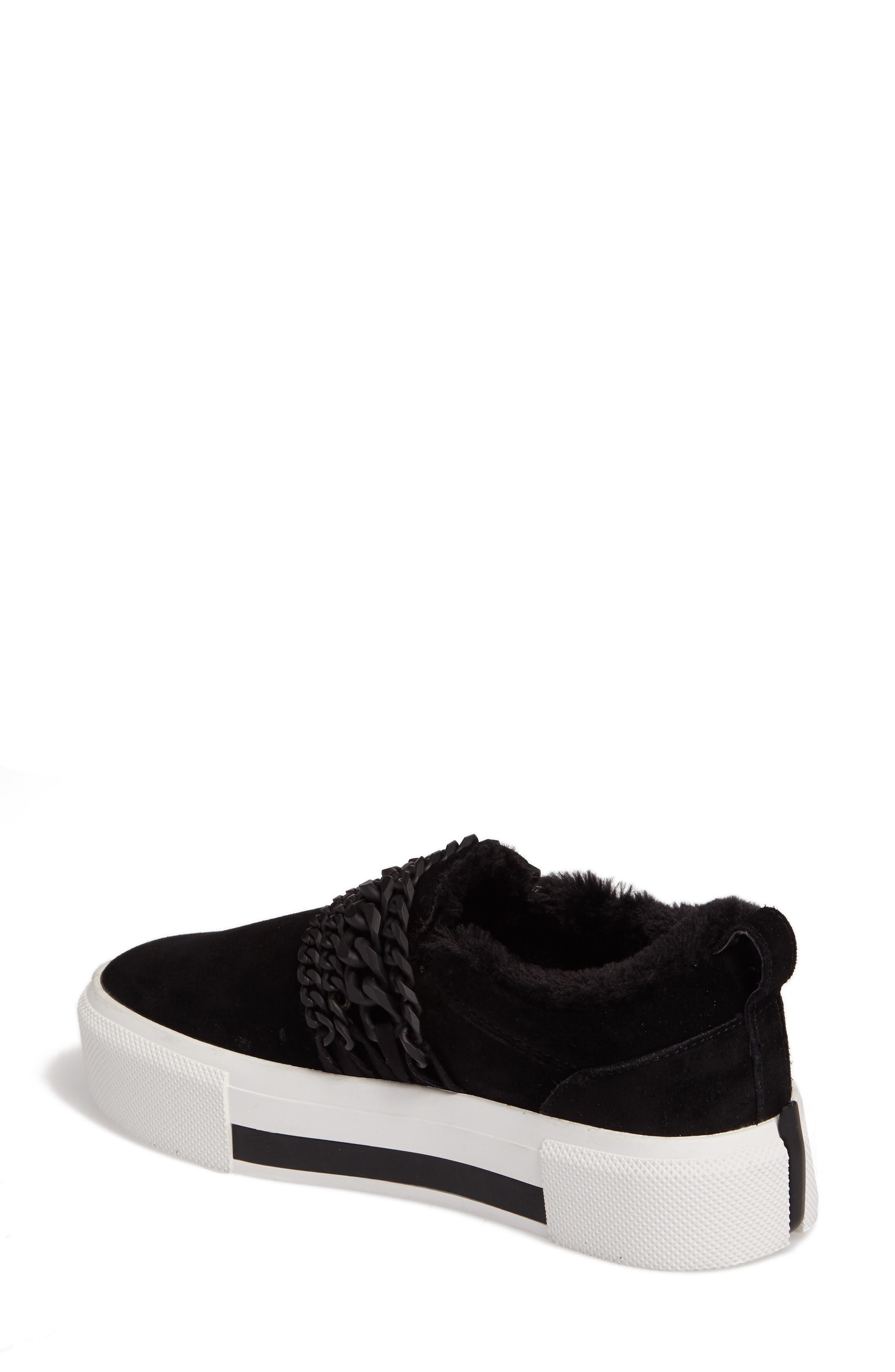 Tory Platform Sneaker,                             Alternate thumbnail 2, color,                             Black