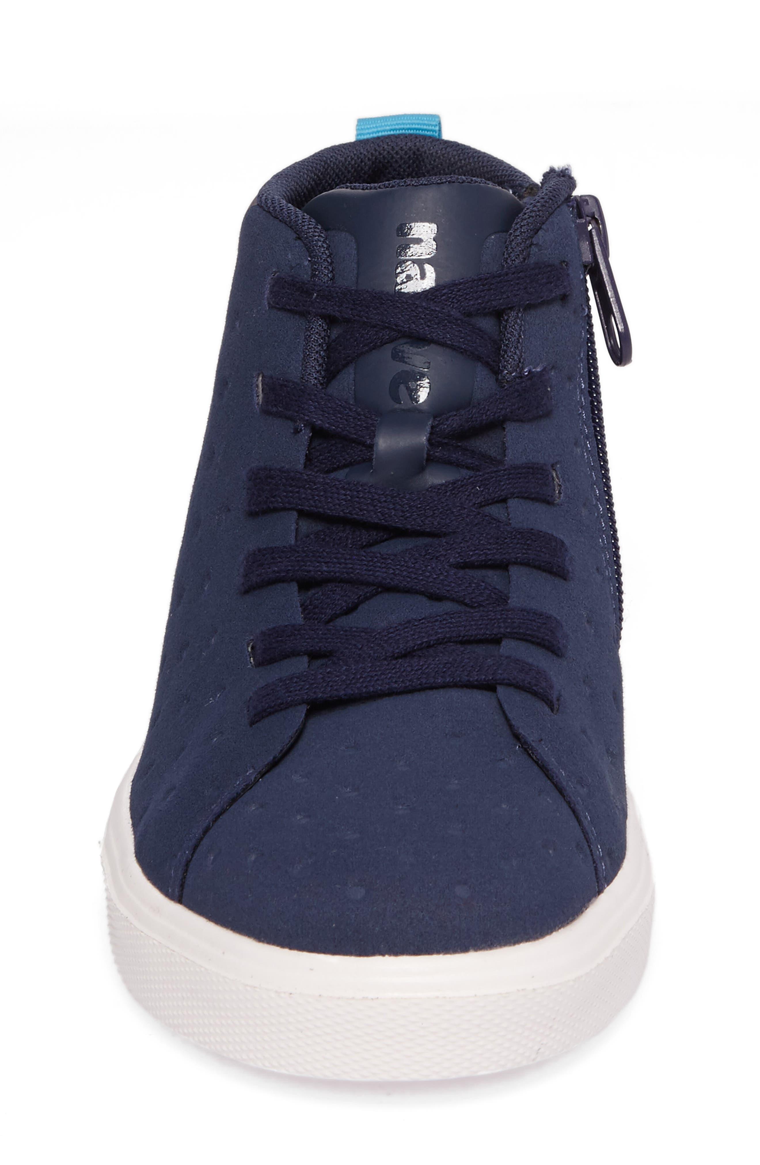 Native Monaco Sneaker,                             Alternate thumbnail 4, color,                             Regatta Blue/ Shell White