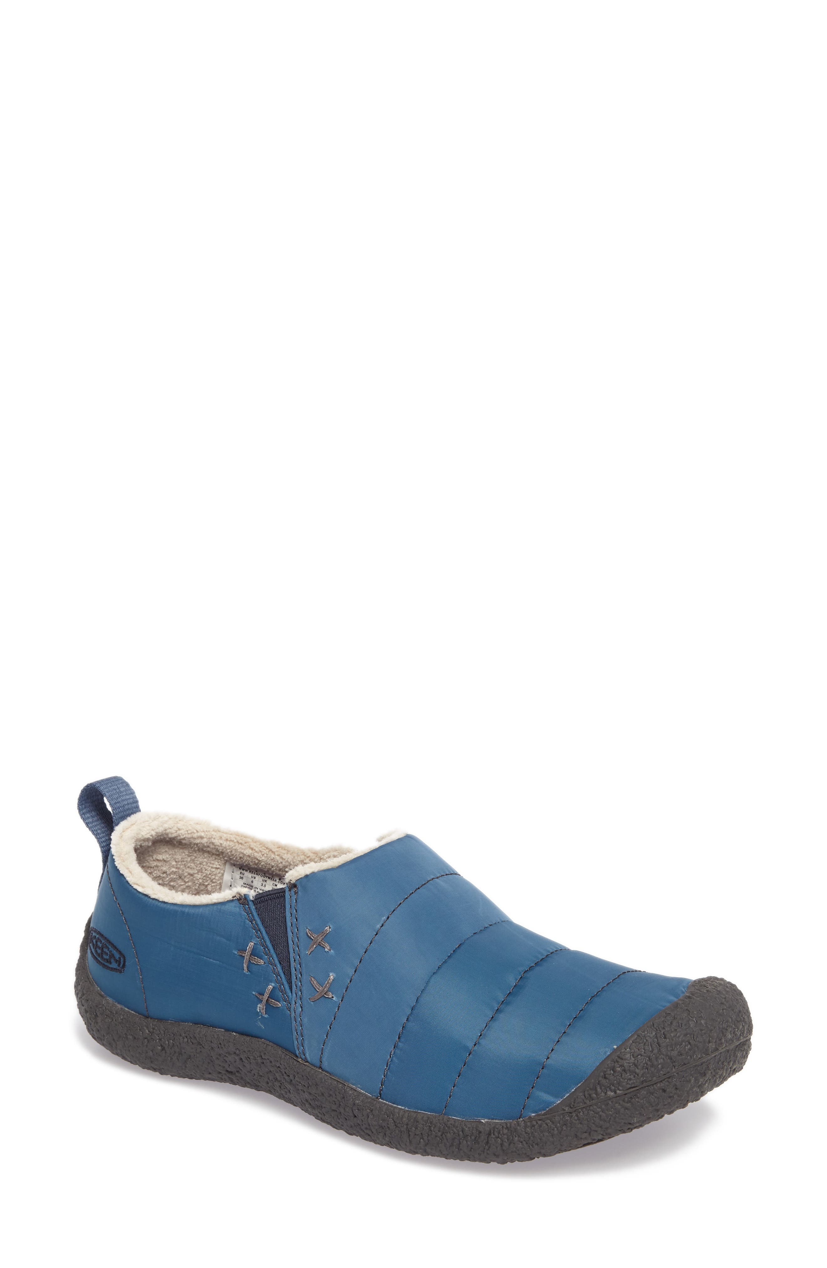 Howser II Water-Resistant Round Toe Clog,                         Main,                         color, Captains Blue Nylon