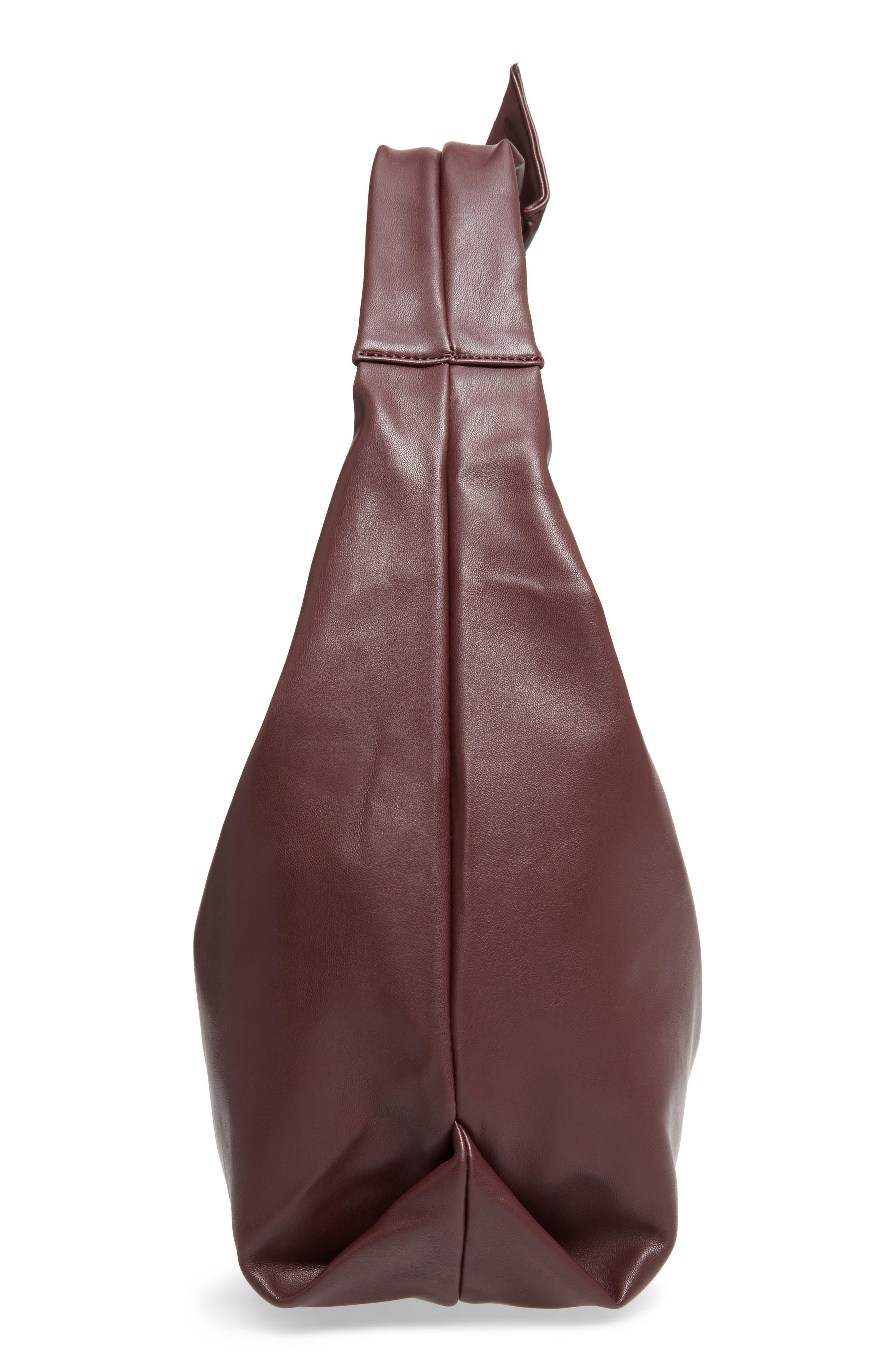 Alternate Image 3  - Sole Society Niki Faux Leather Hobo