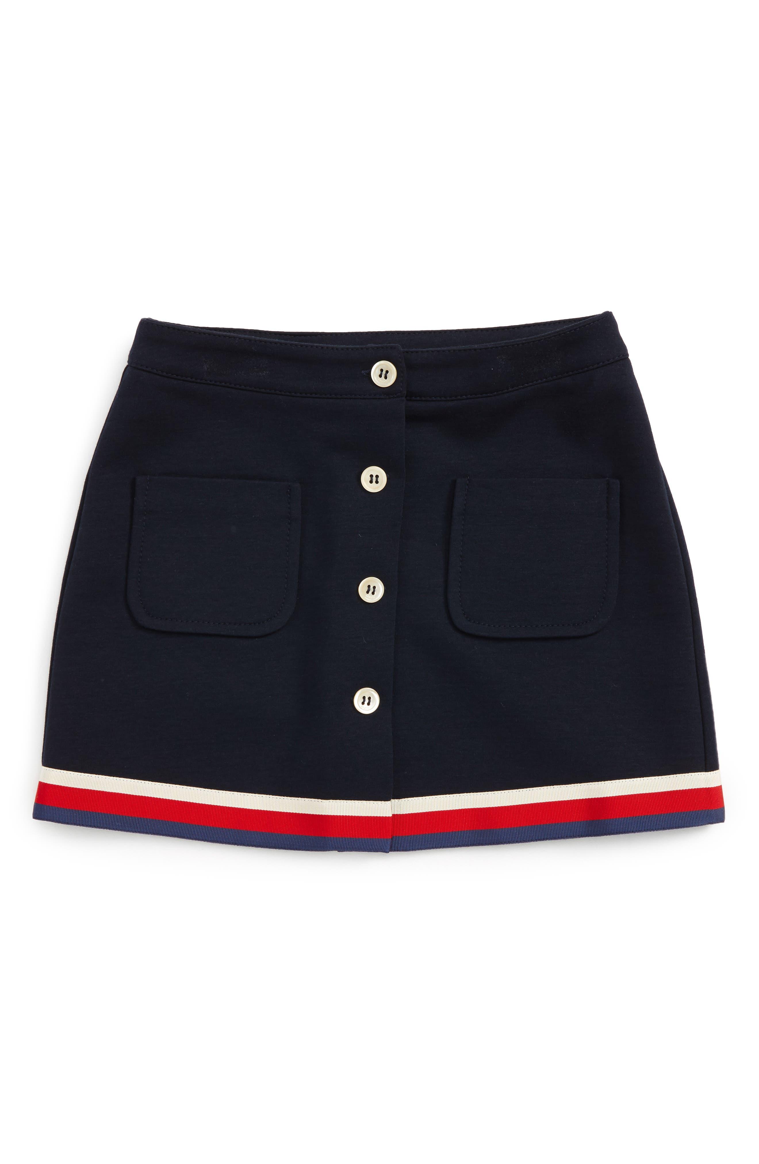Skirt,                             Main thumbnail 1, color,                             Ink