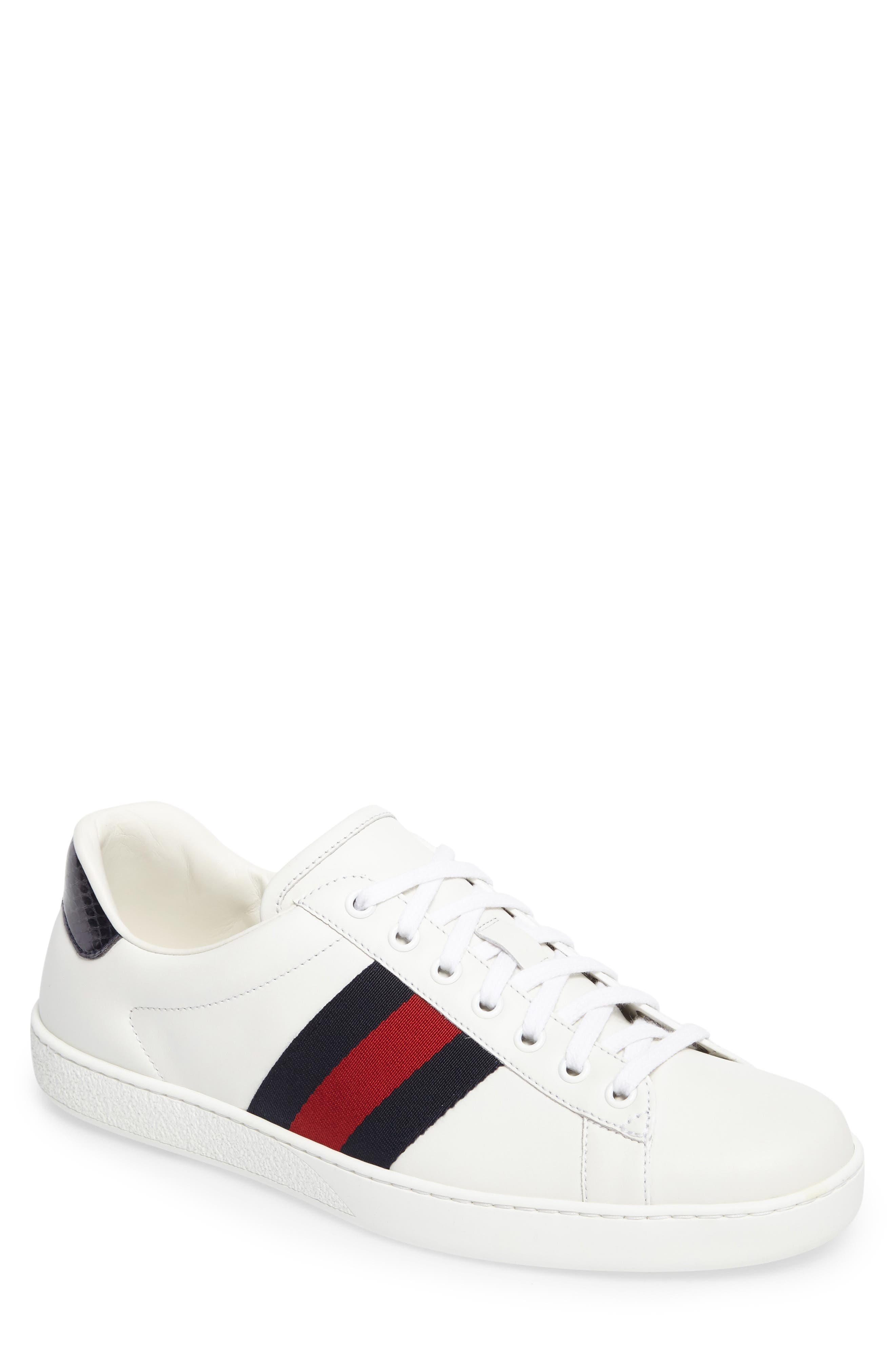 New Ace Clean Sneaker,                             Main thumbnail 1, color,                             Bianco