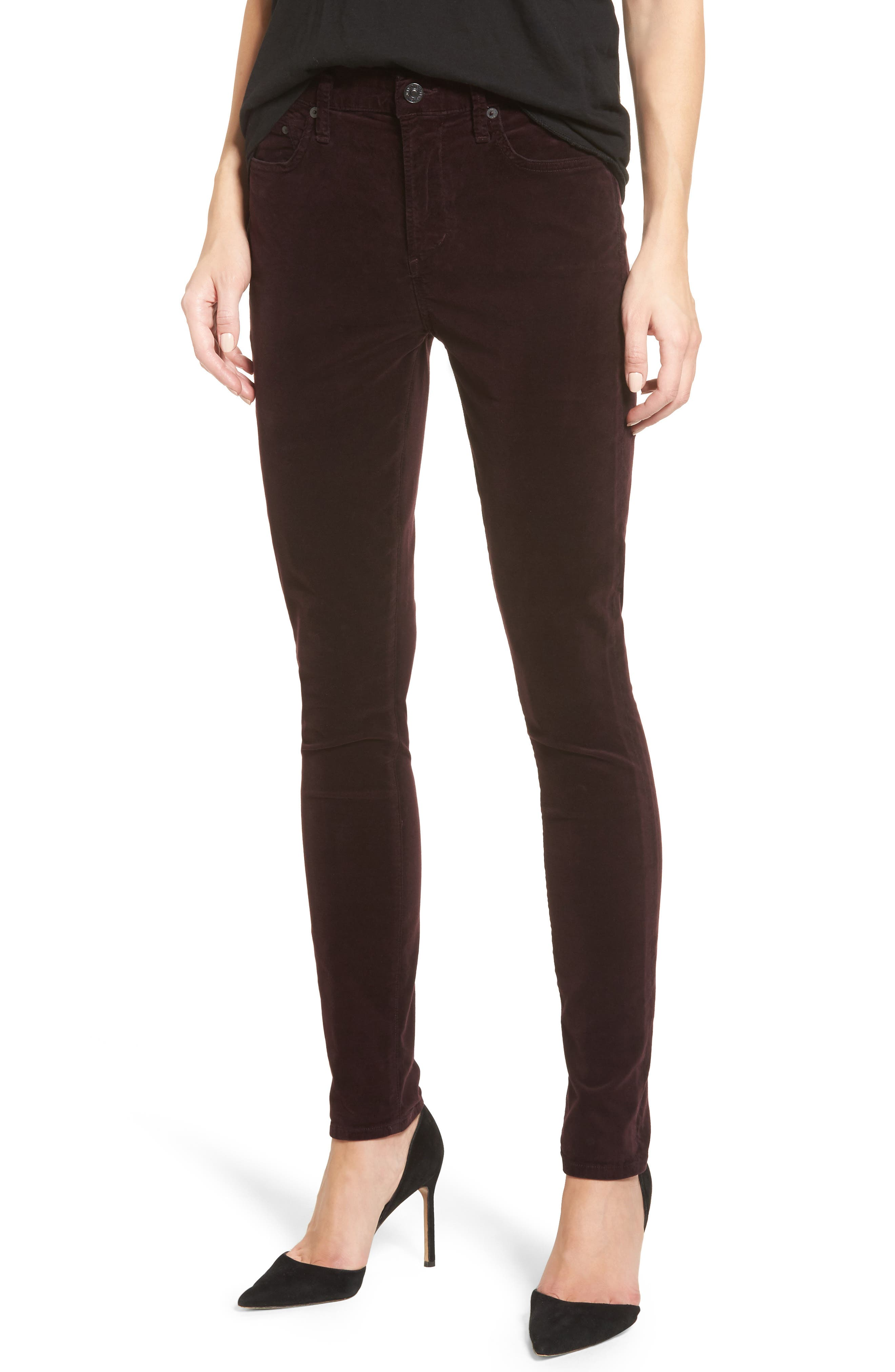 Main Image - Citizens of Humanity Rocket High Waist Velveteen Skinny Pants