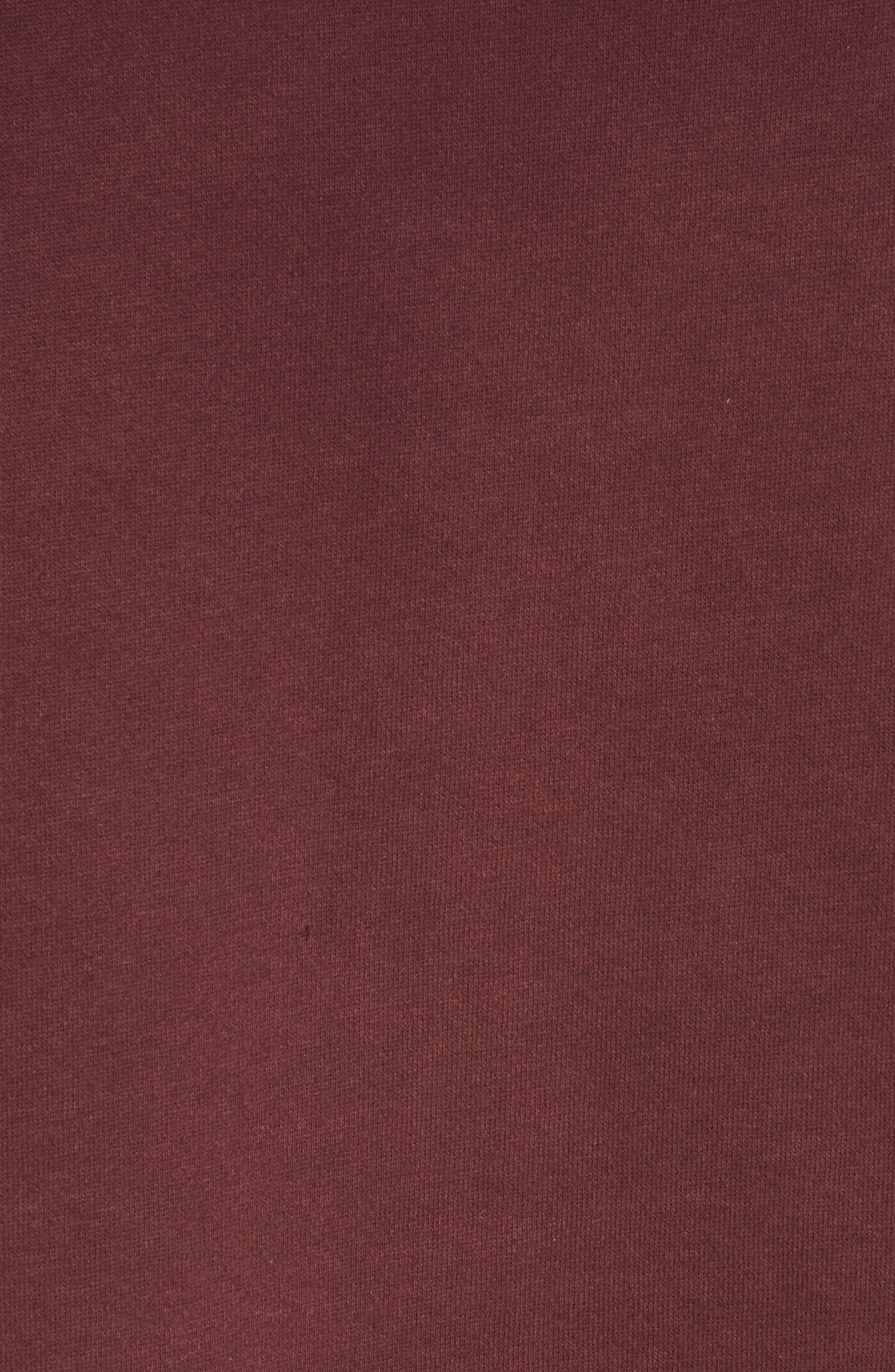 Alternate Image 3  - RVCA Smudged Crop Funnel Neck Sweatshirt