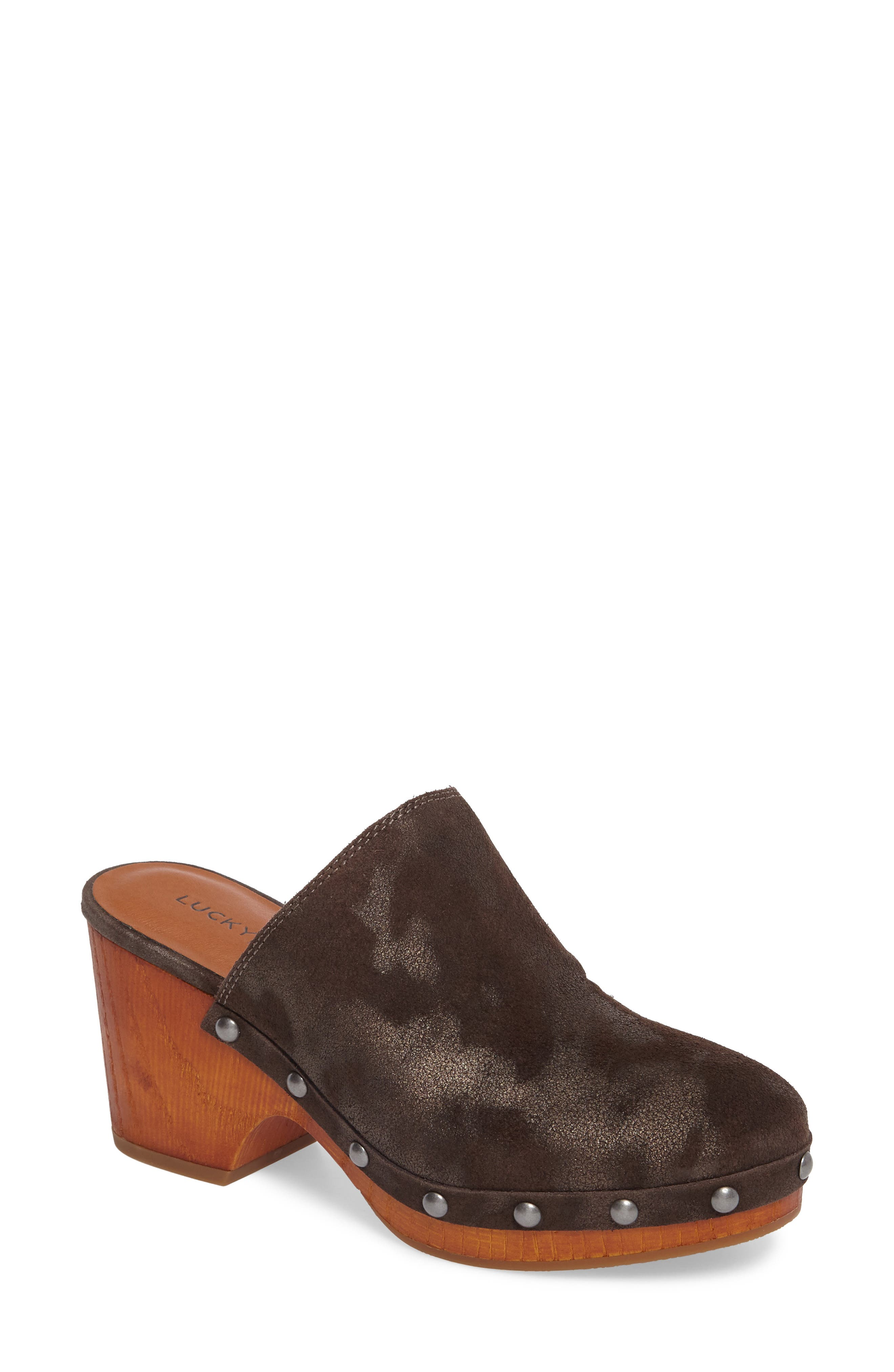 Yeats Clog,                         Main,                         color, Bracken Leather