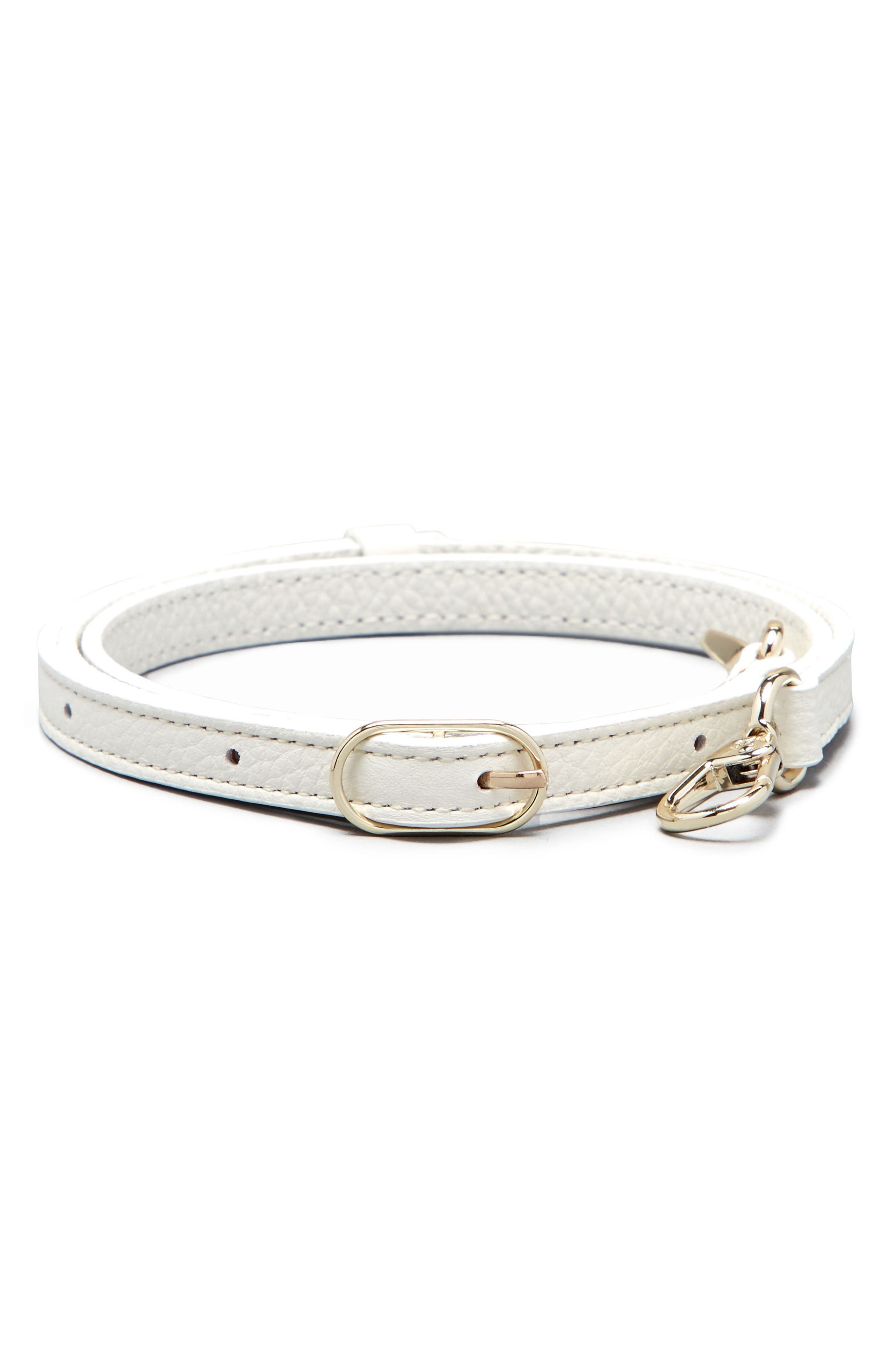 Main Image - Pop & Suki Leather Fanny Strap (Nordstrom Exclusive)