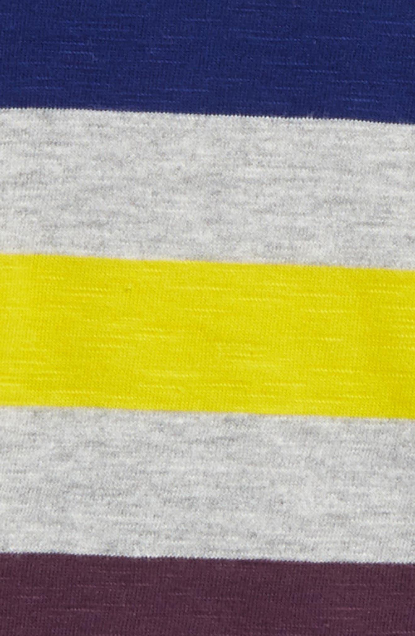 Alternate Image 2  - Mini Boden Stripe Long Sleeve T-Shirt (Toddler Boys, Little Boys & Big Boys)