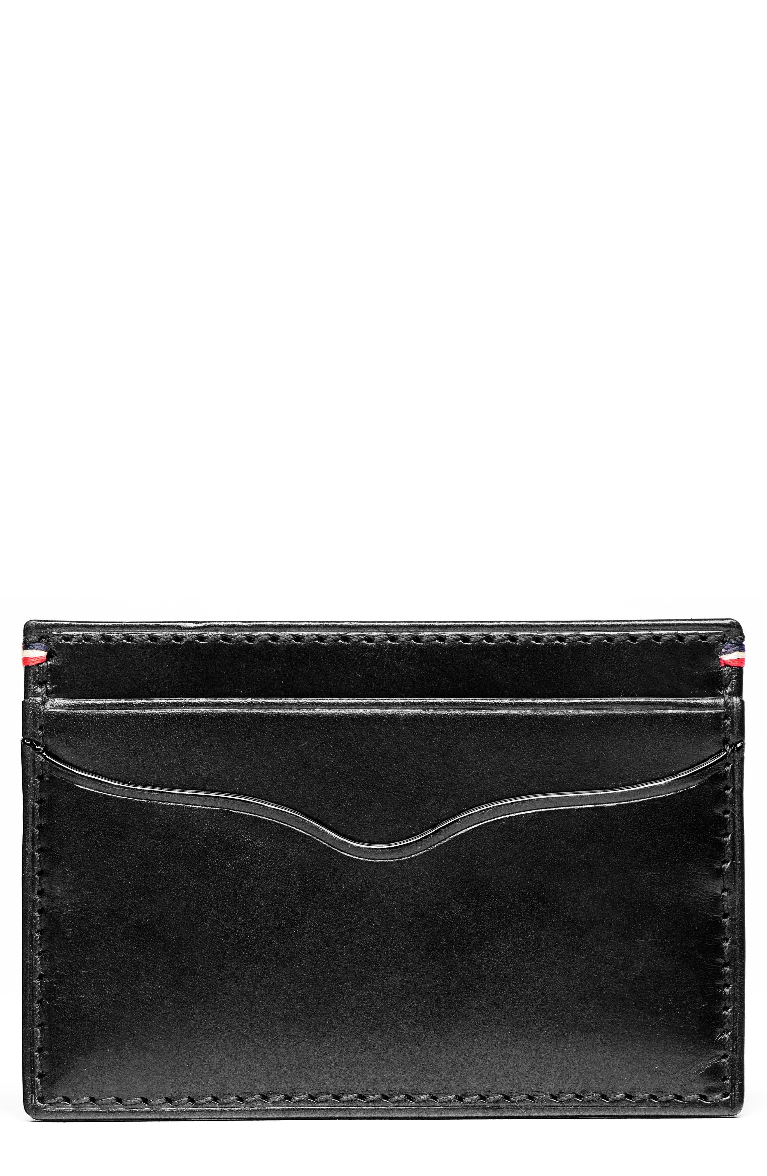 Jack Mason Core Leather Card Case
