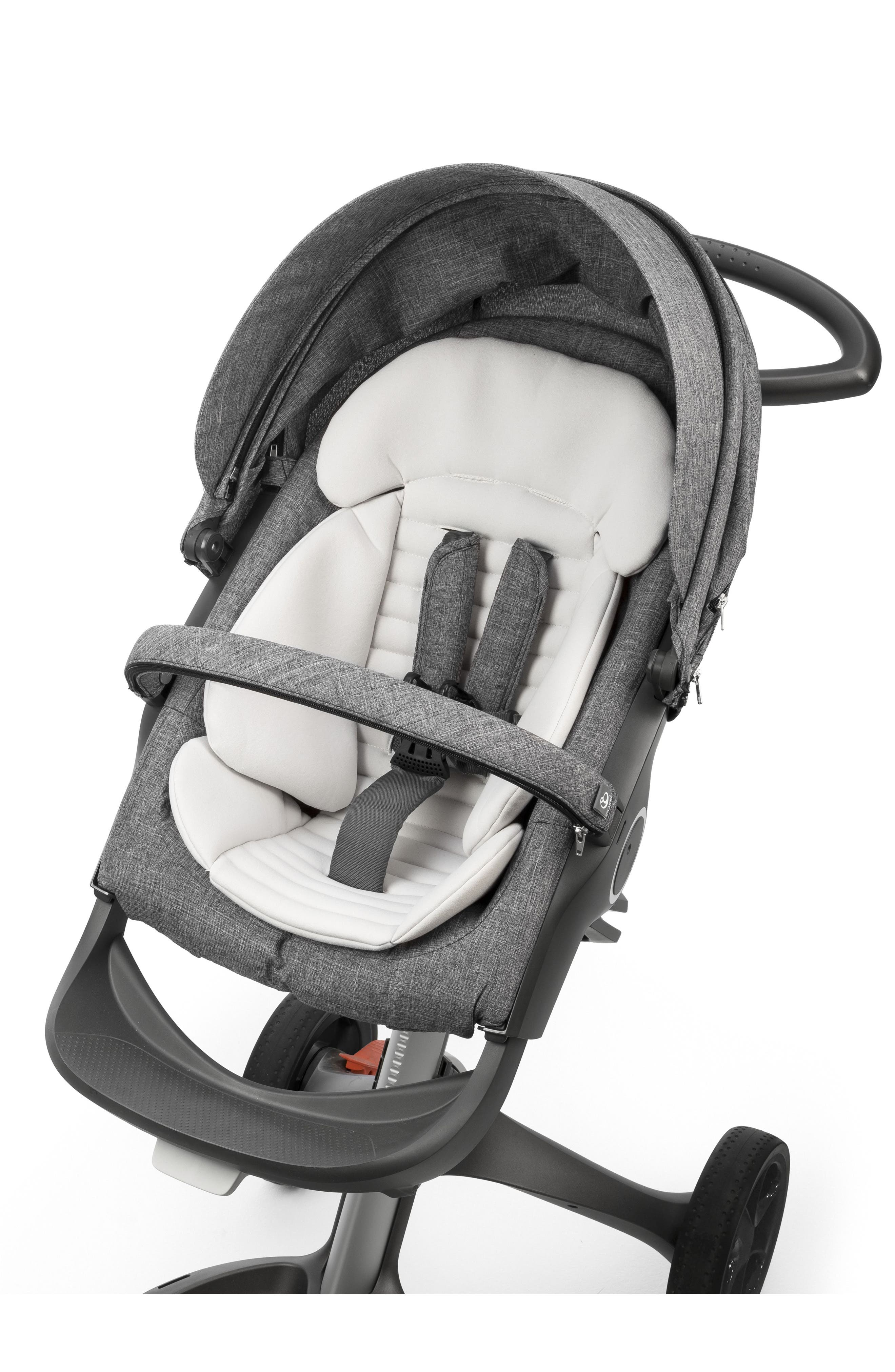 Stroller Seat Inlay for Xplory/Trailz/Crusi Strollers,                             Alternate thumbnail 2, color,                             Grey