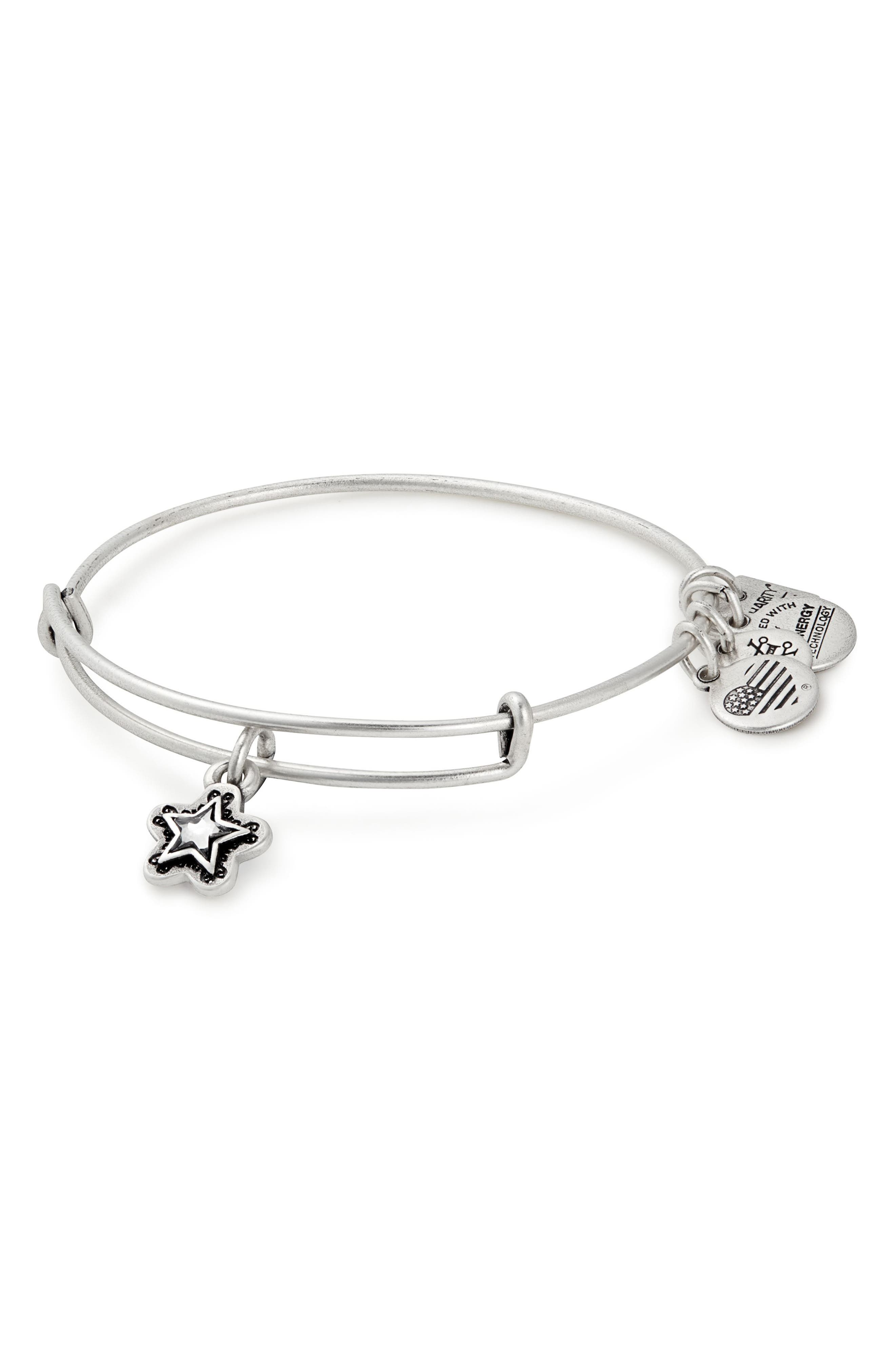 Alex and Ani Charity by Design True Wish Adjustable Bangle