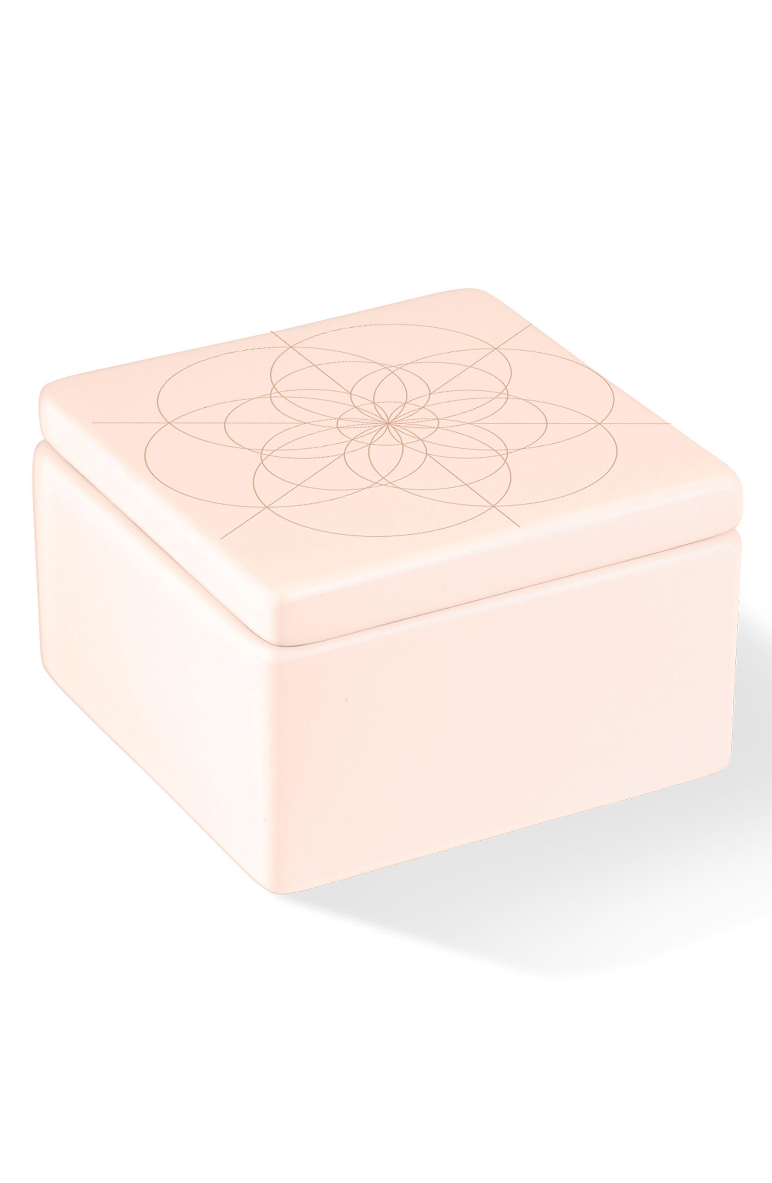 Main Image - Fringe Studio Kaleidoscope Ceramic Box