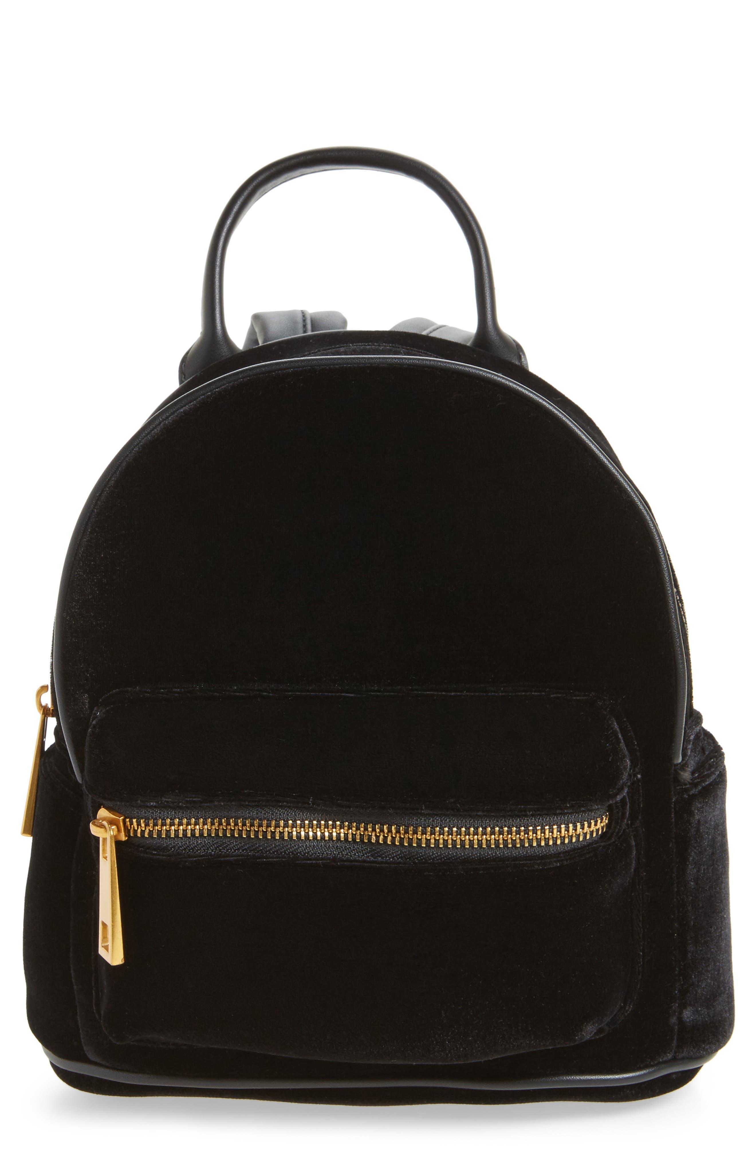 Velvet Backpack,                             Main thumbnail 1, color,                             Black
