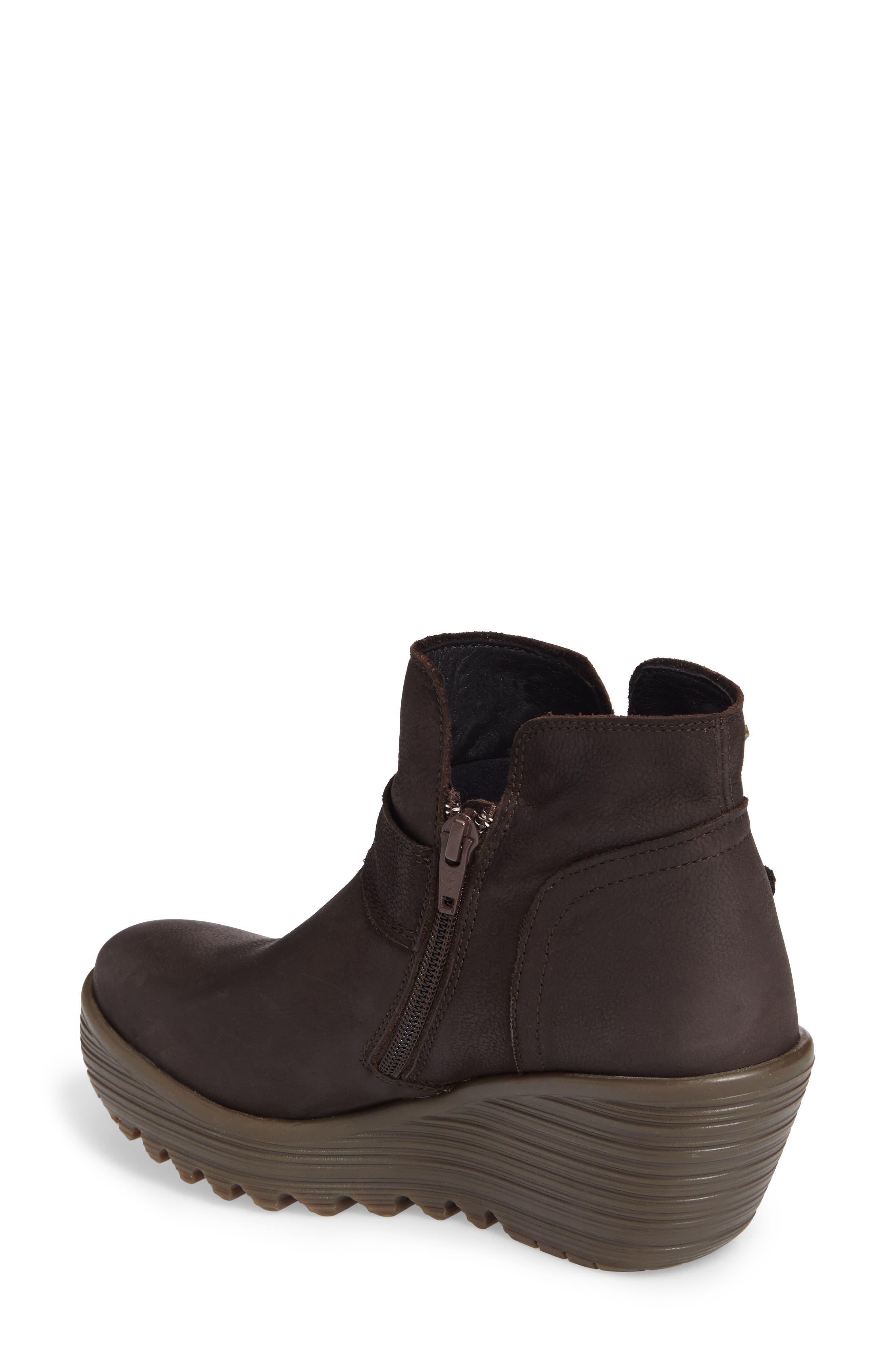 Alternate Image 2  - Fly London Yock Waterproof Gore-Tex® Wedge Boot (Women)