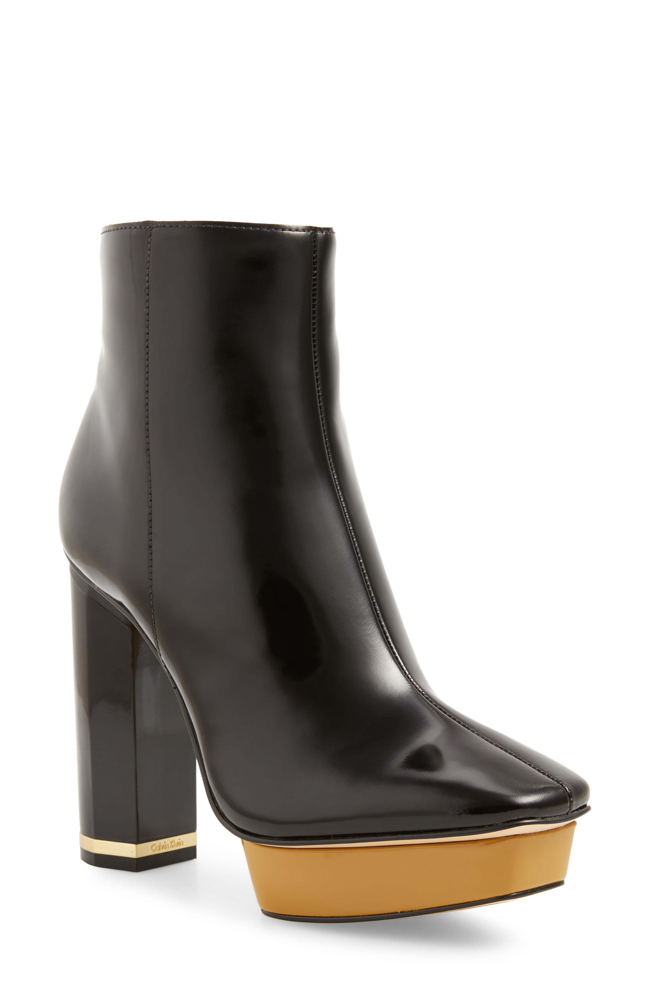 Alternate Image 1 Selected - Calvin Klein Bernadett Bootie (Women)