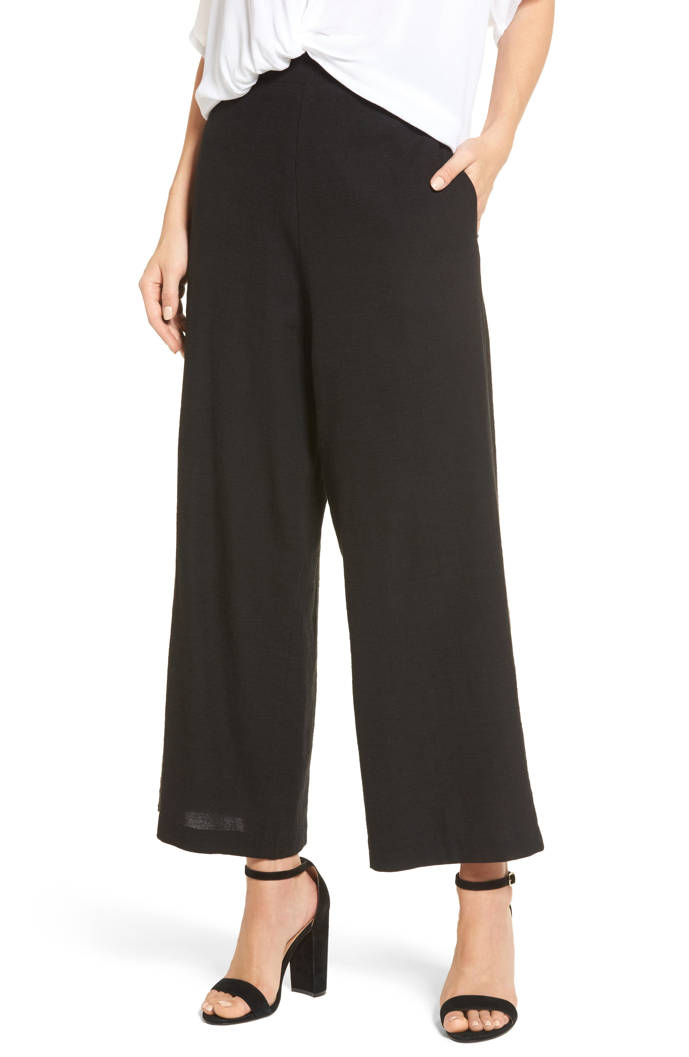 Alternate Image 1 Selected - StyleKeepers Montauk High Waist Culottes