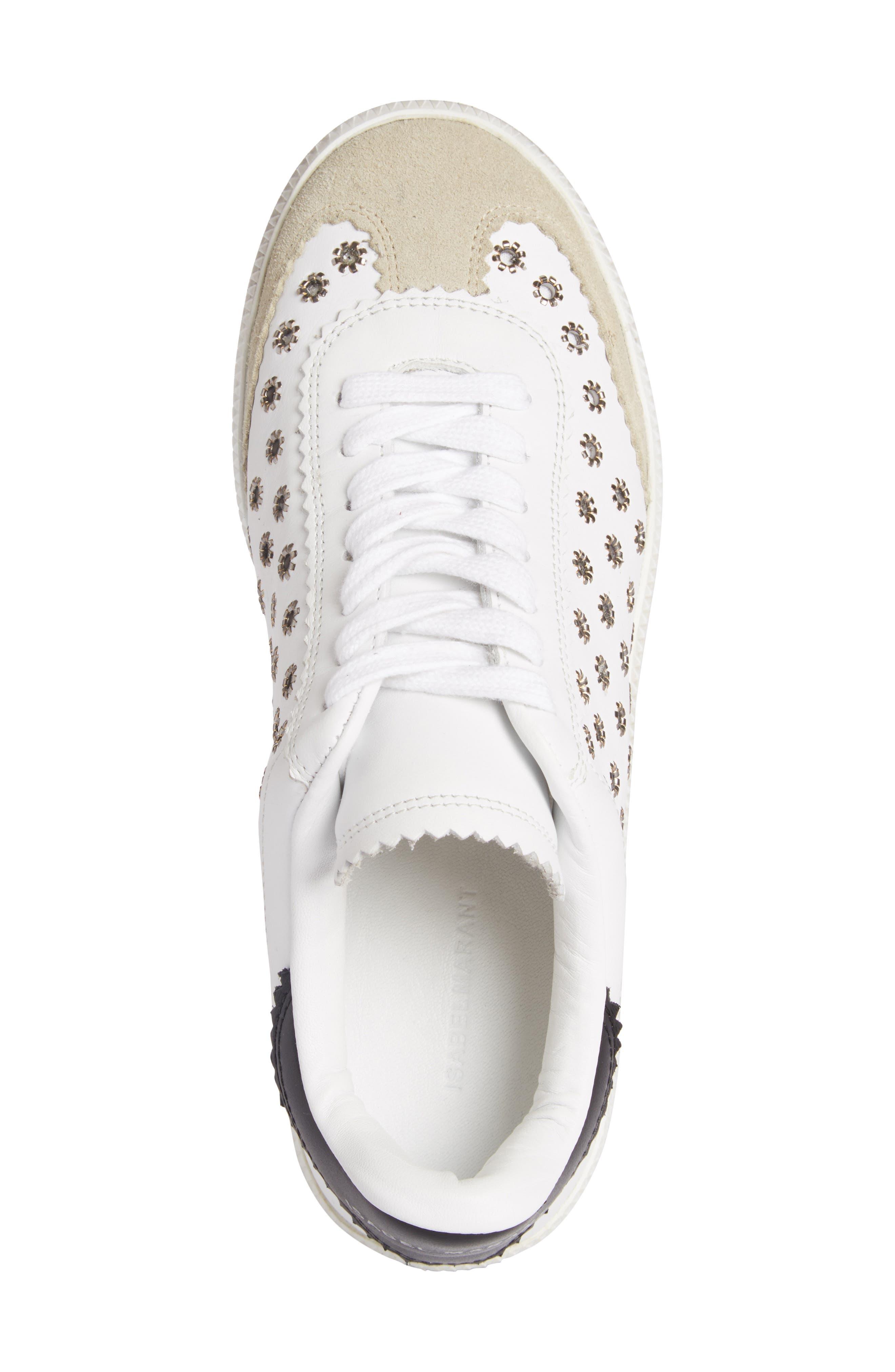 Alternate Image 4  - Isabel Marant Grommet Sneaker (Women)