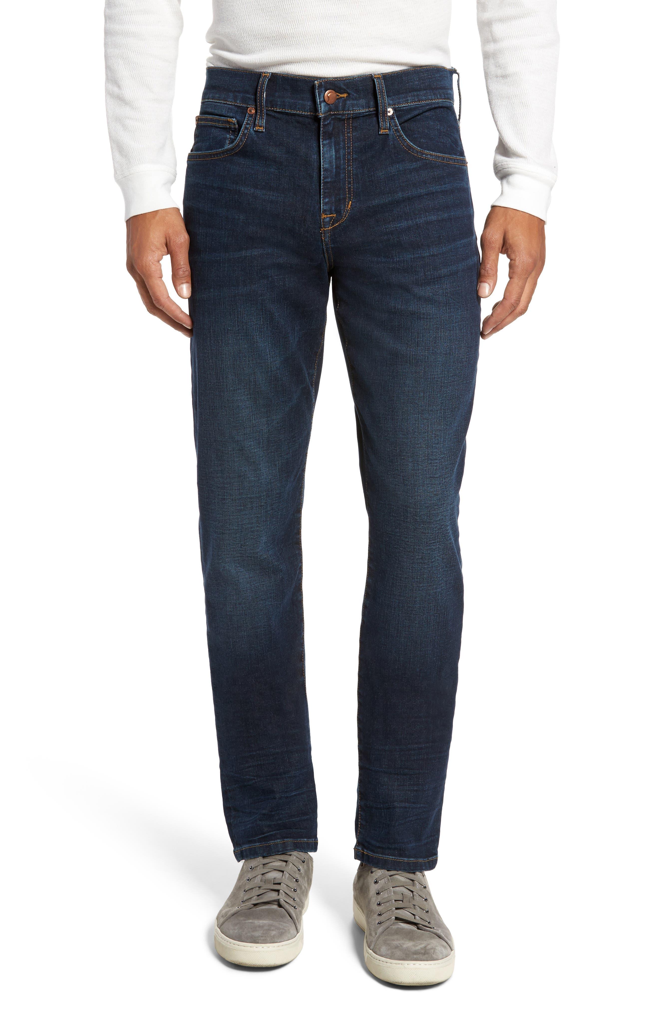 Slim Fit Jeans,                         Main,                         color, Bernard