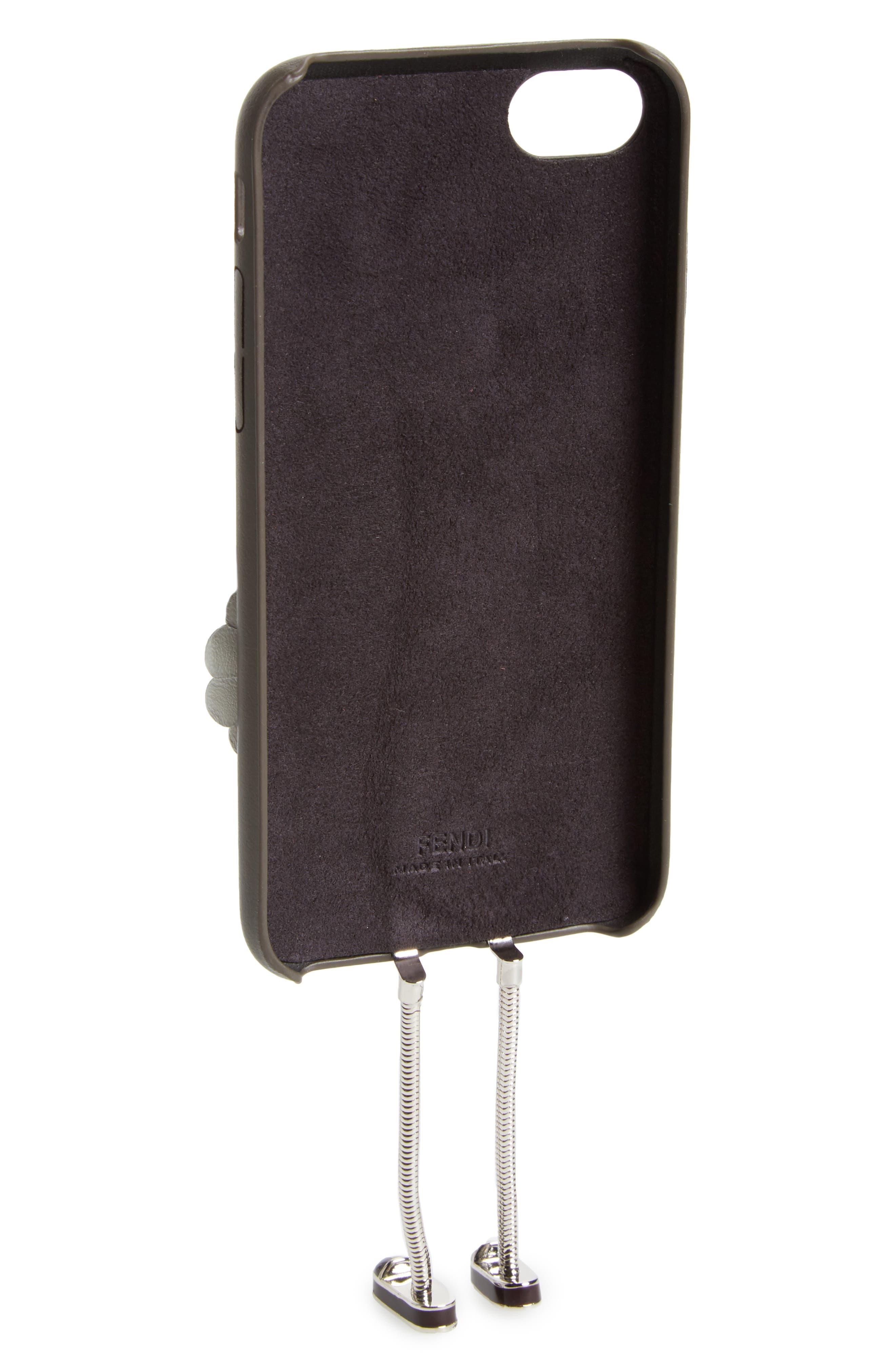Century Legs iPhone 7 Case,                             Alternate thumbnail 2, color,                             Coal/White/Multi