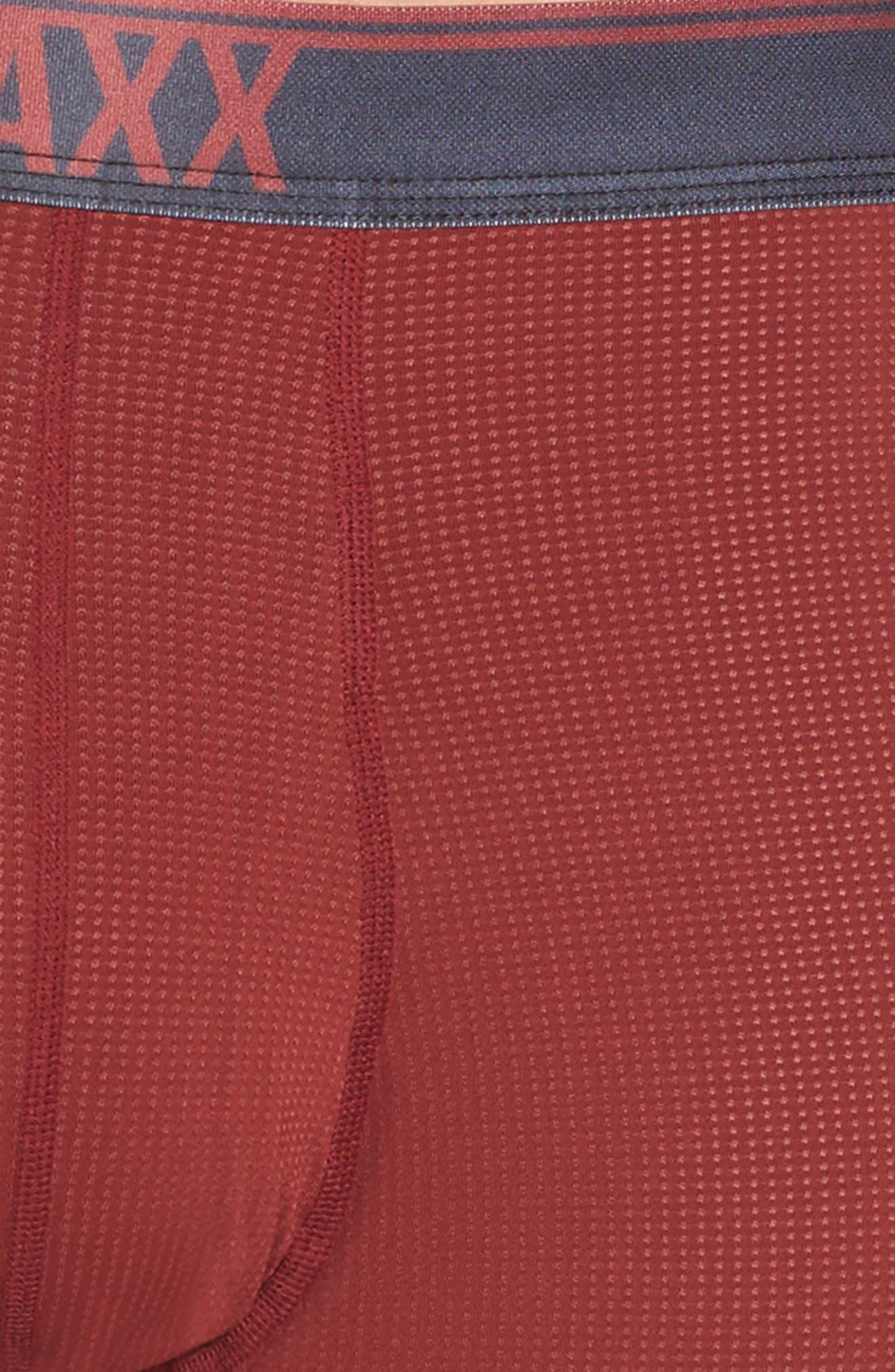 Quest 2.0 Boxer Briefs,                             Alternate thumbnail 4, color,                             Brick Red