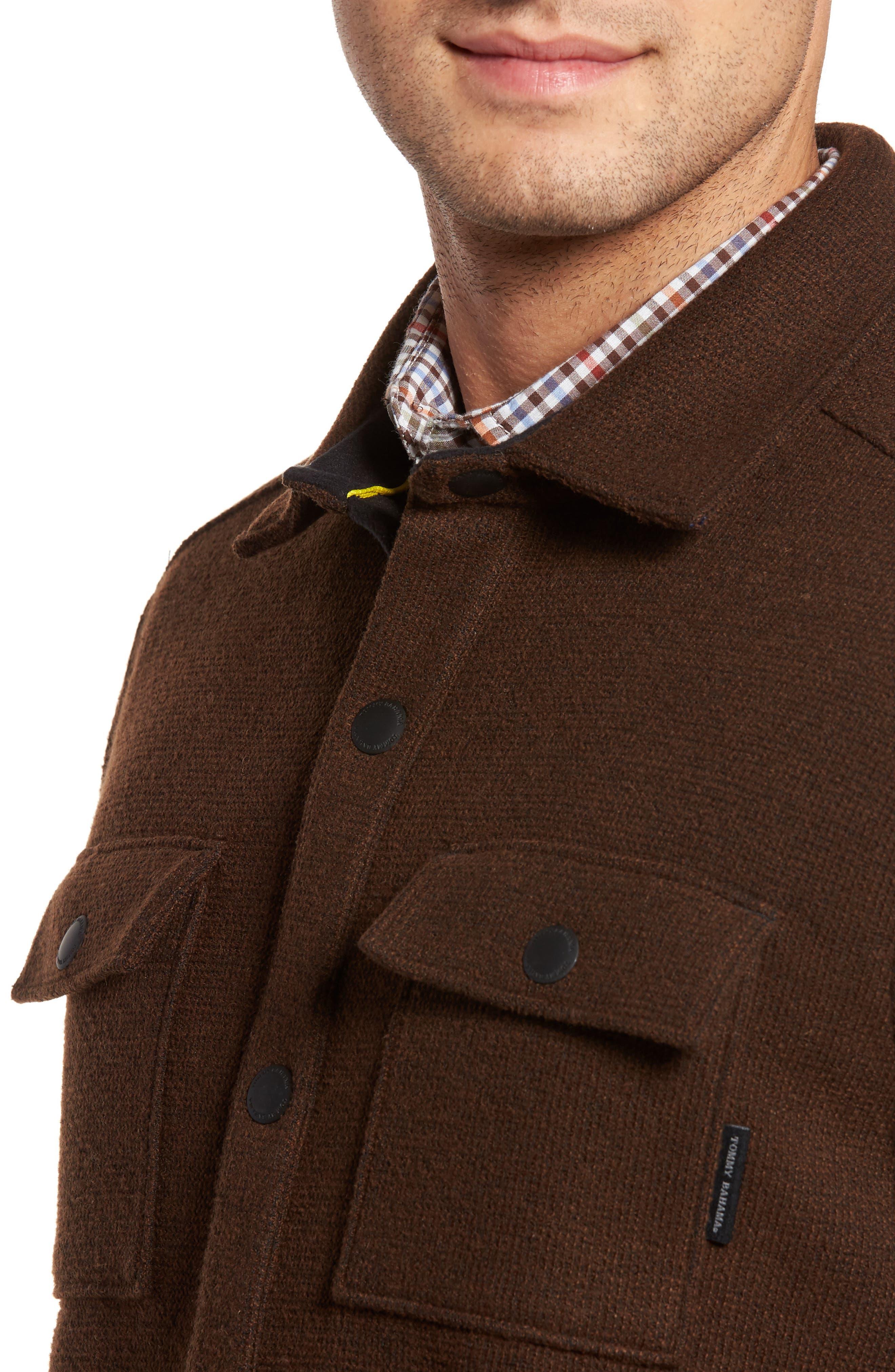 Alternate Image 4  - Tommy Bahama Paradise Creek Snap Front Fleece Jacket