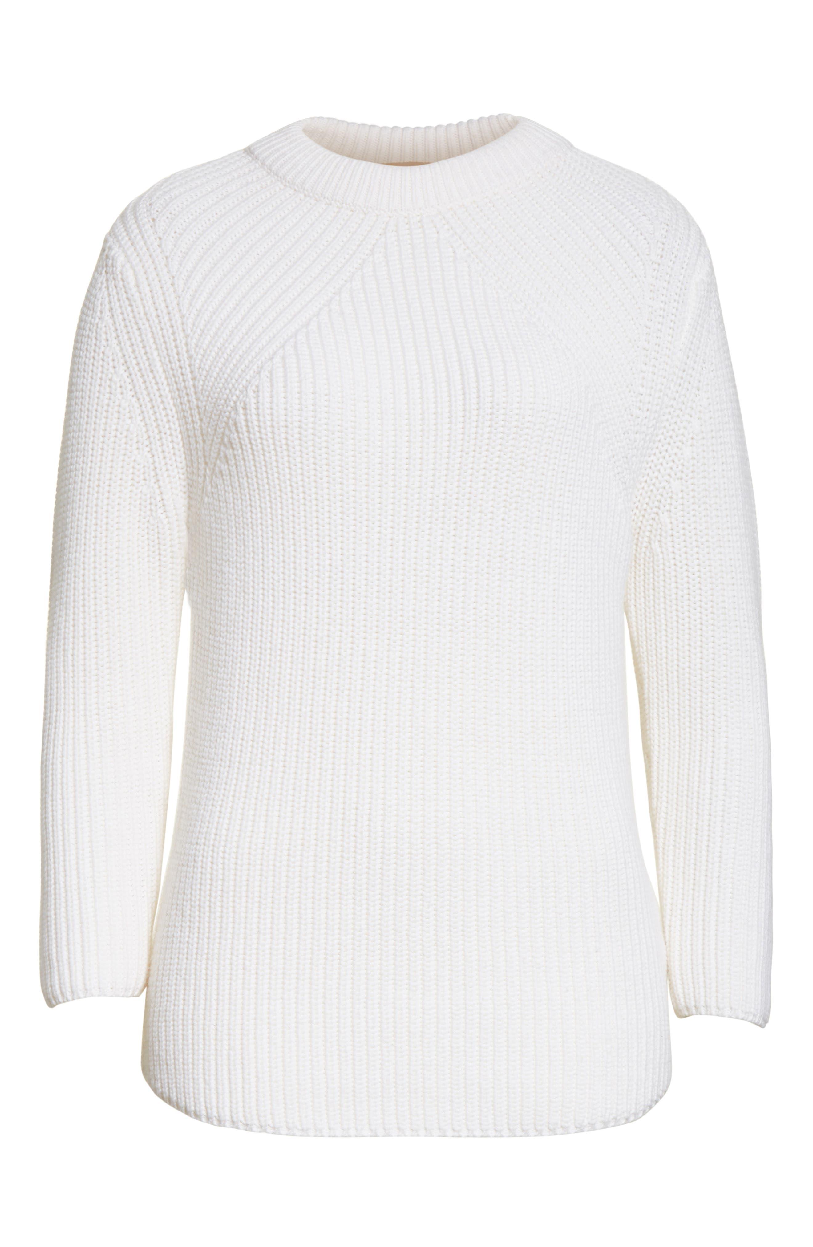 Alternate Image 6  - Michael Kors Merino Wool & Cotton Pullover