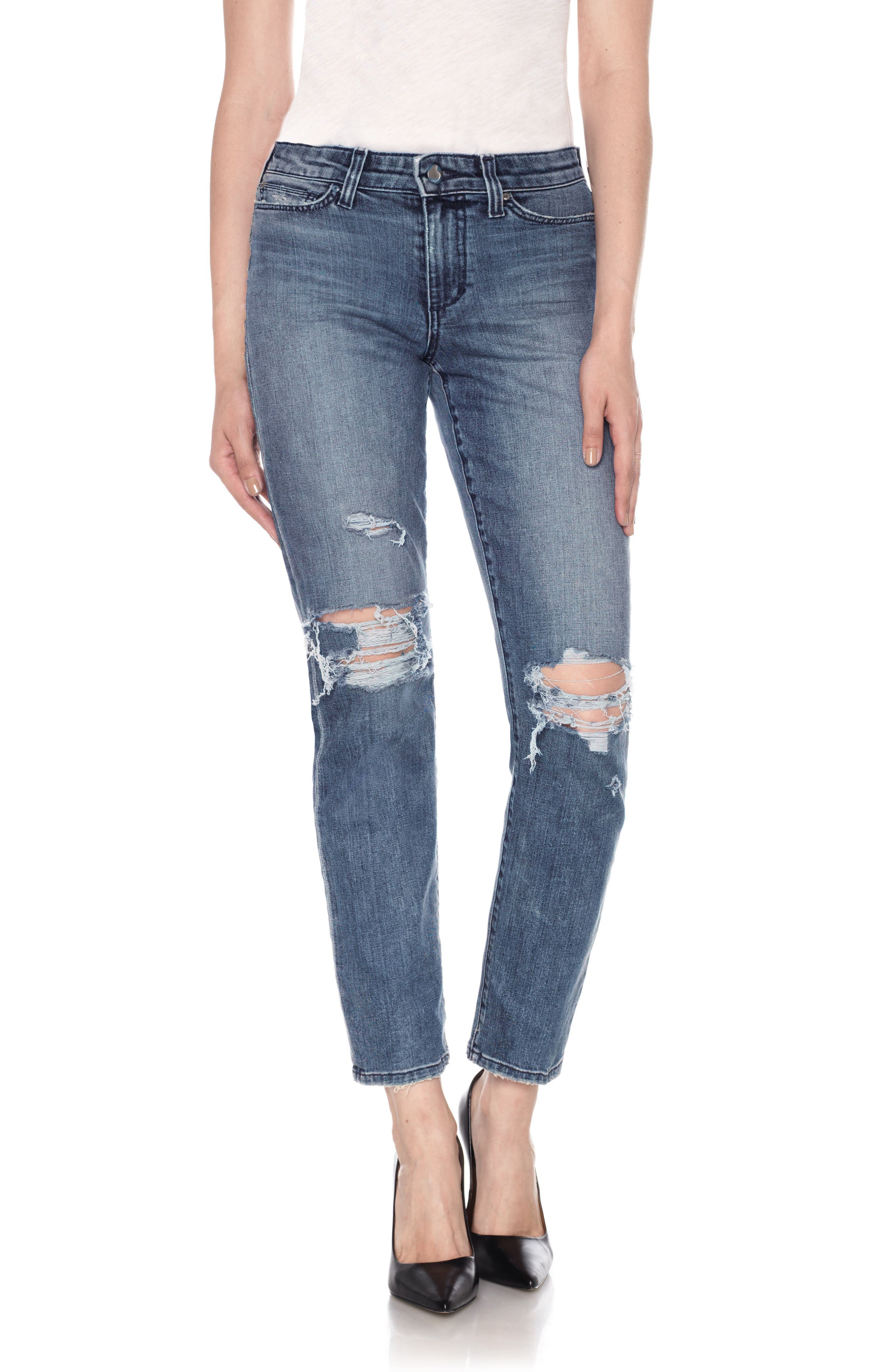 Kass Ankle Skinny Jeans,                         Main,                         color, Shanti