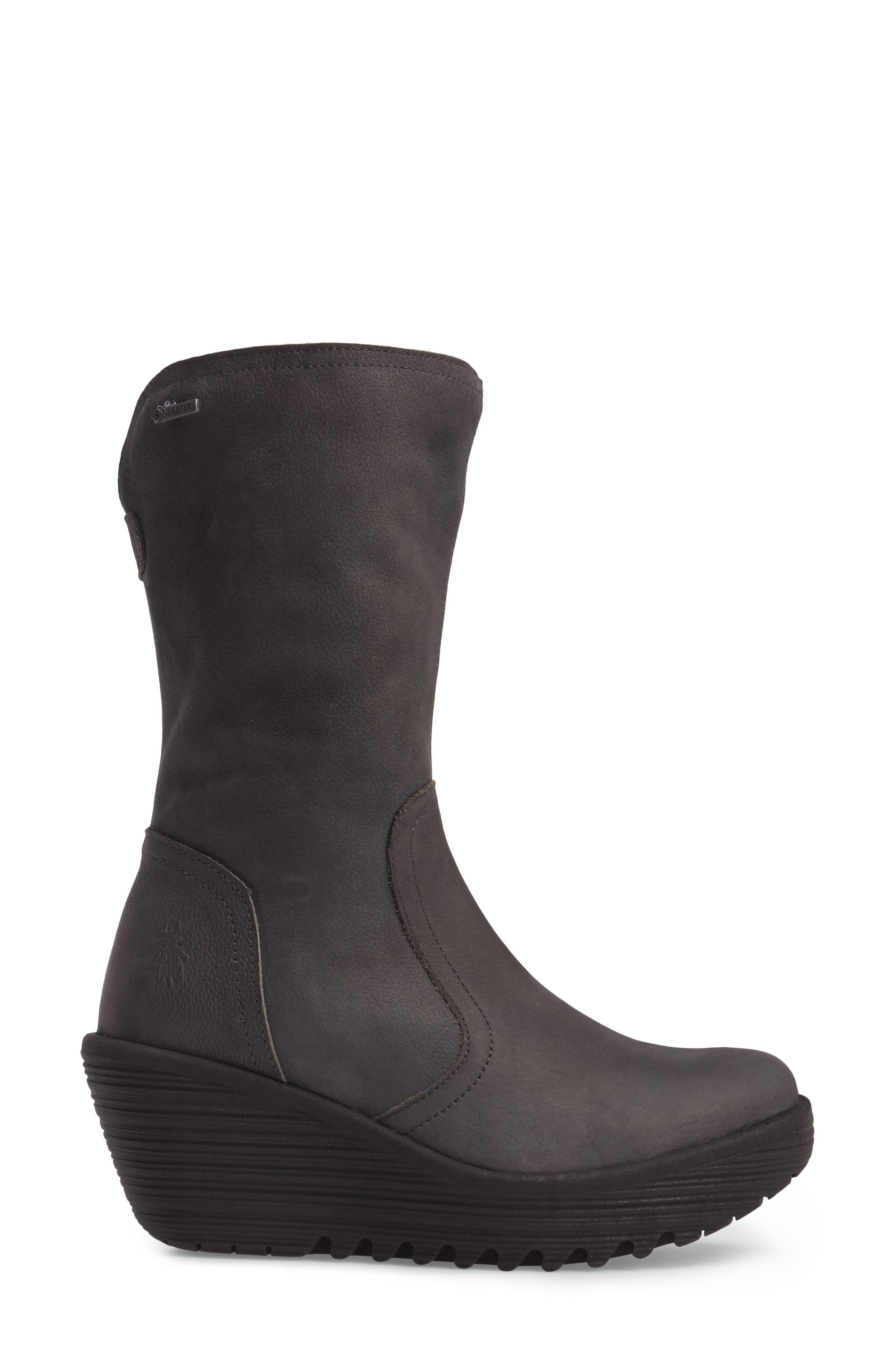 Alternate Image 3  - Fly London Yups Waterproof Gore-Tex® Wedge Boot (Women)