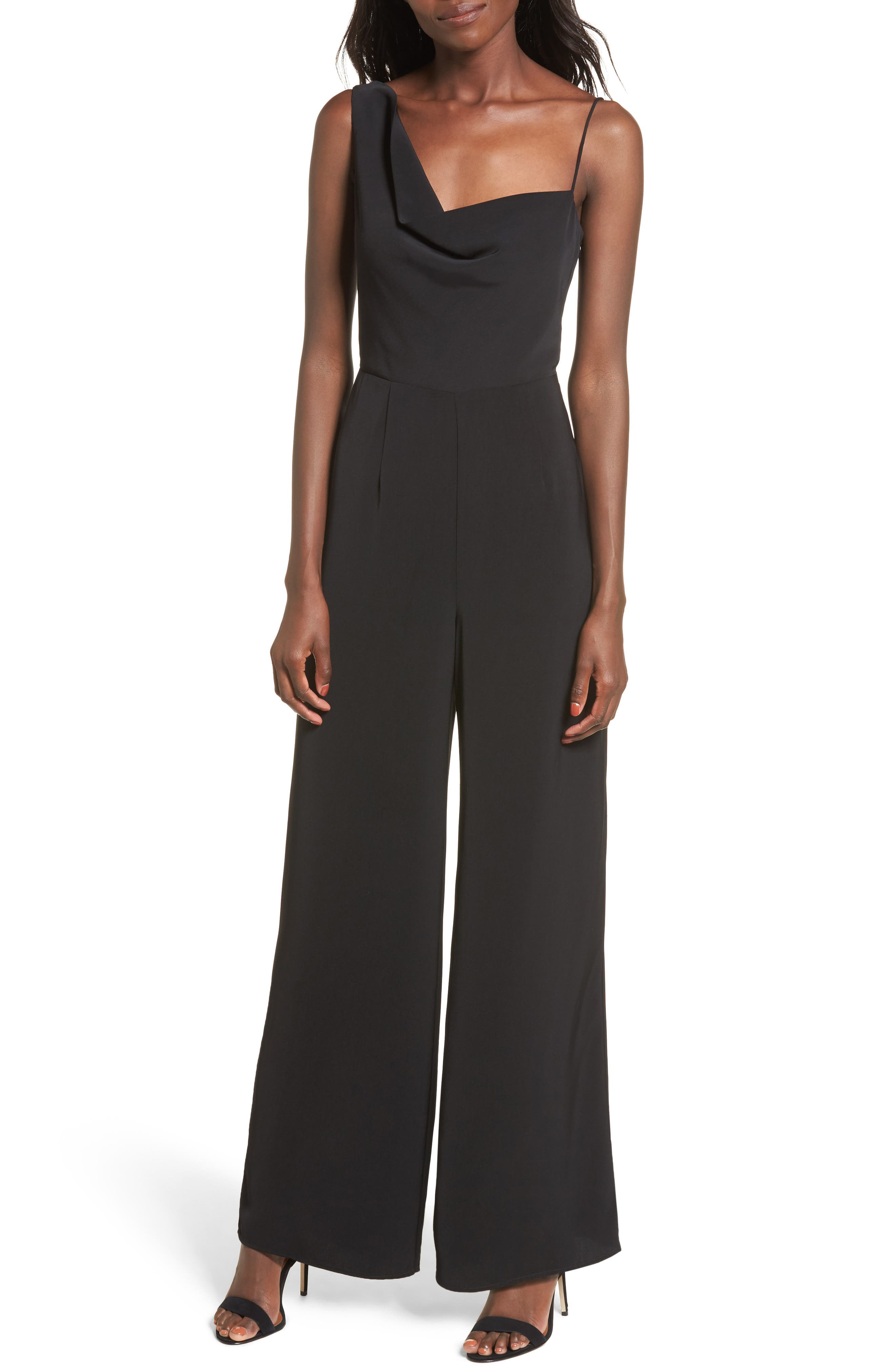 Be Mine Jumpsuit,                         Main,                         color, Black