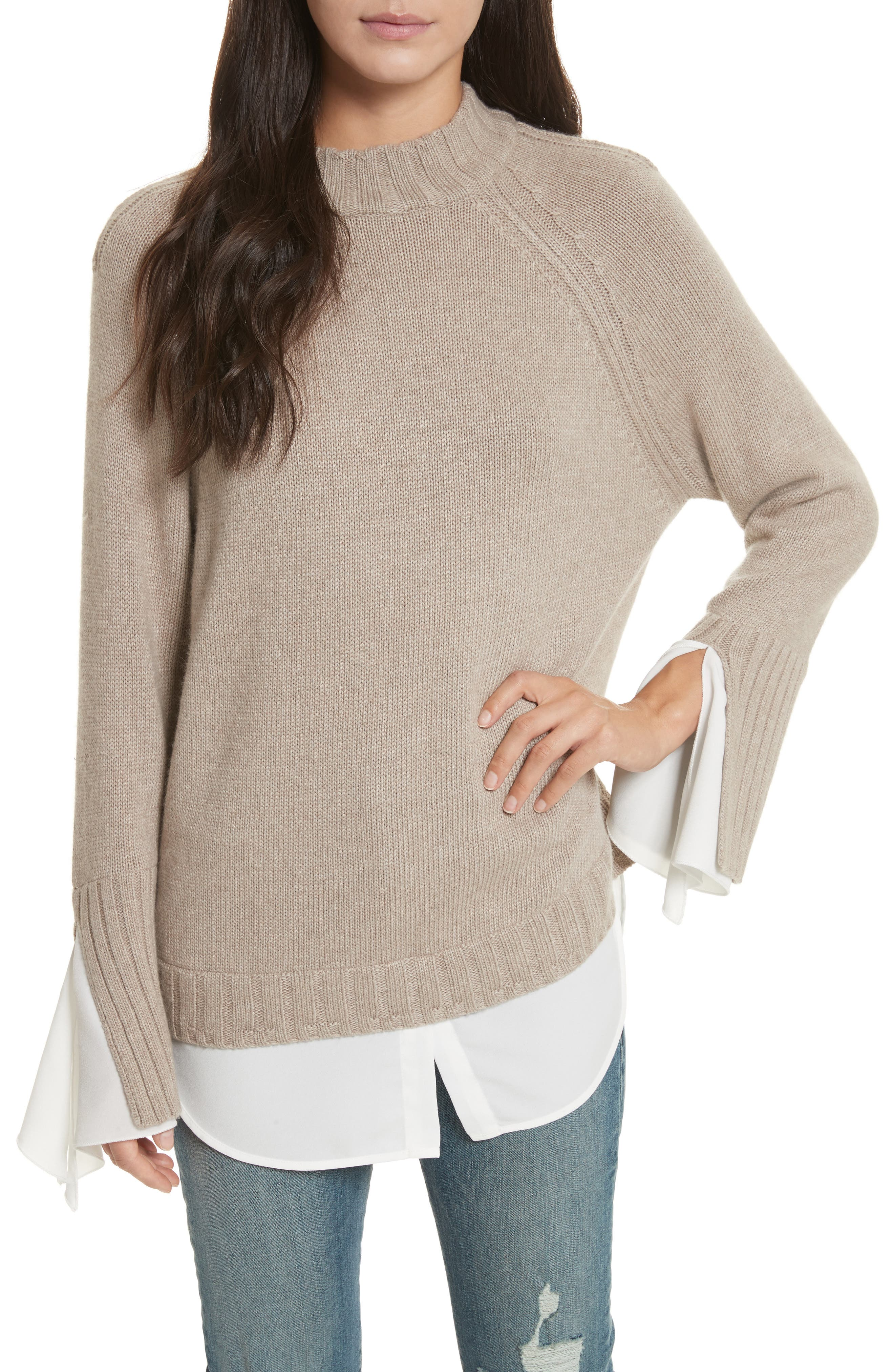 Alternate Image 1 Selected - Brochu Walker Remi Layered Pullover