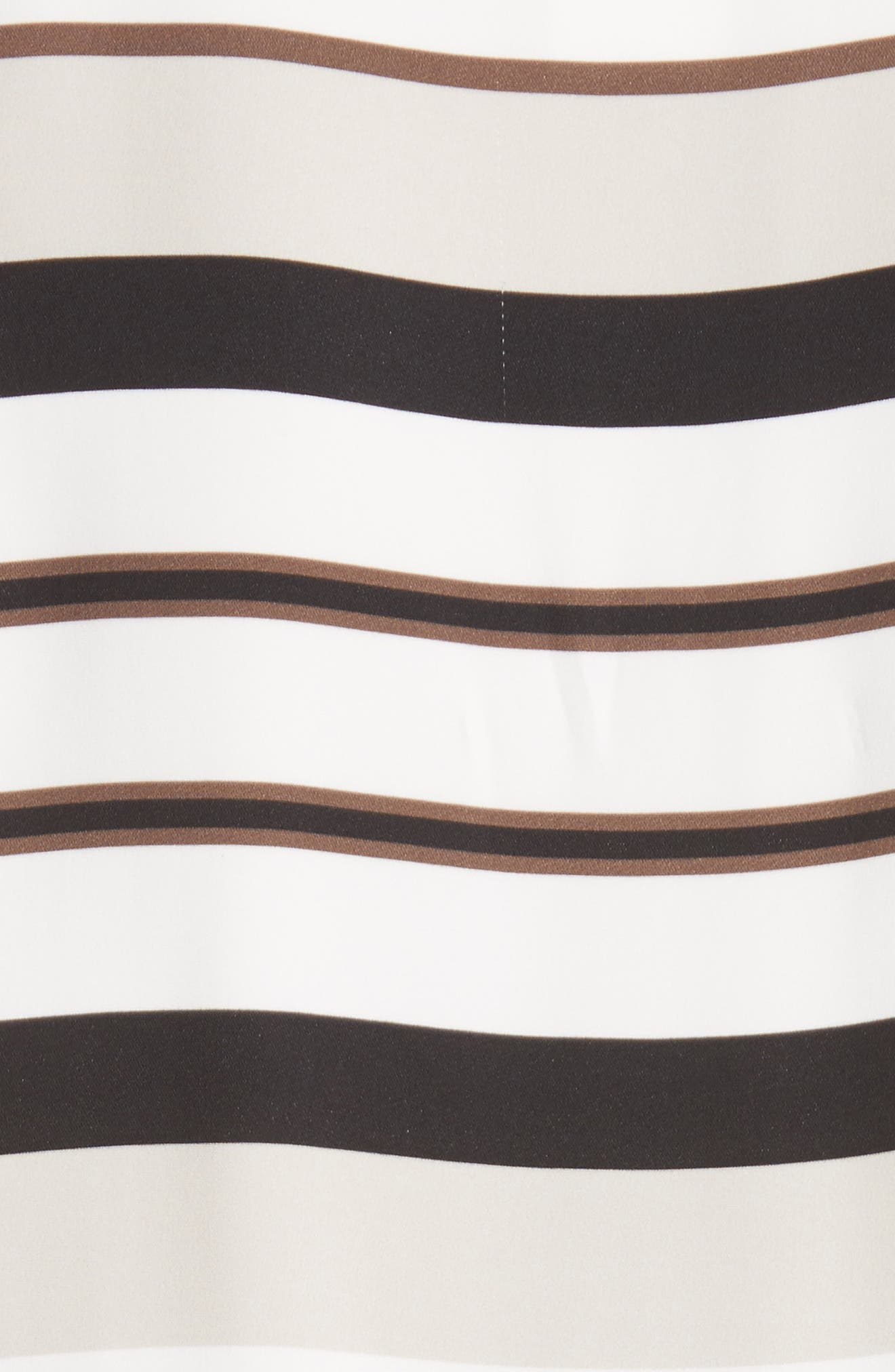 Alternate Image 5  - Lafayette 148 New York Greta Stripe Drop Waist Dress