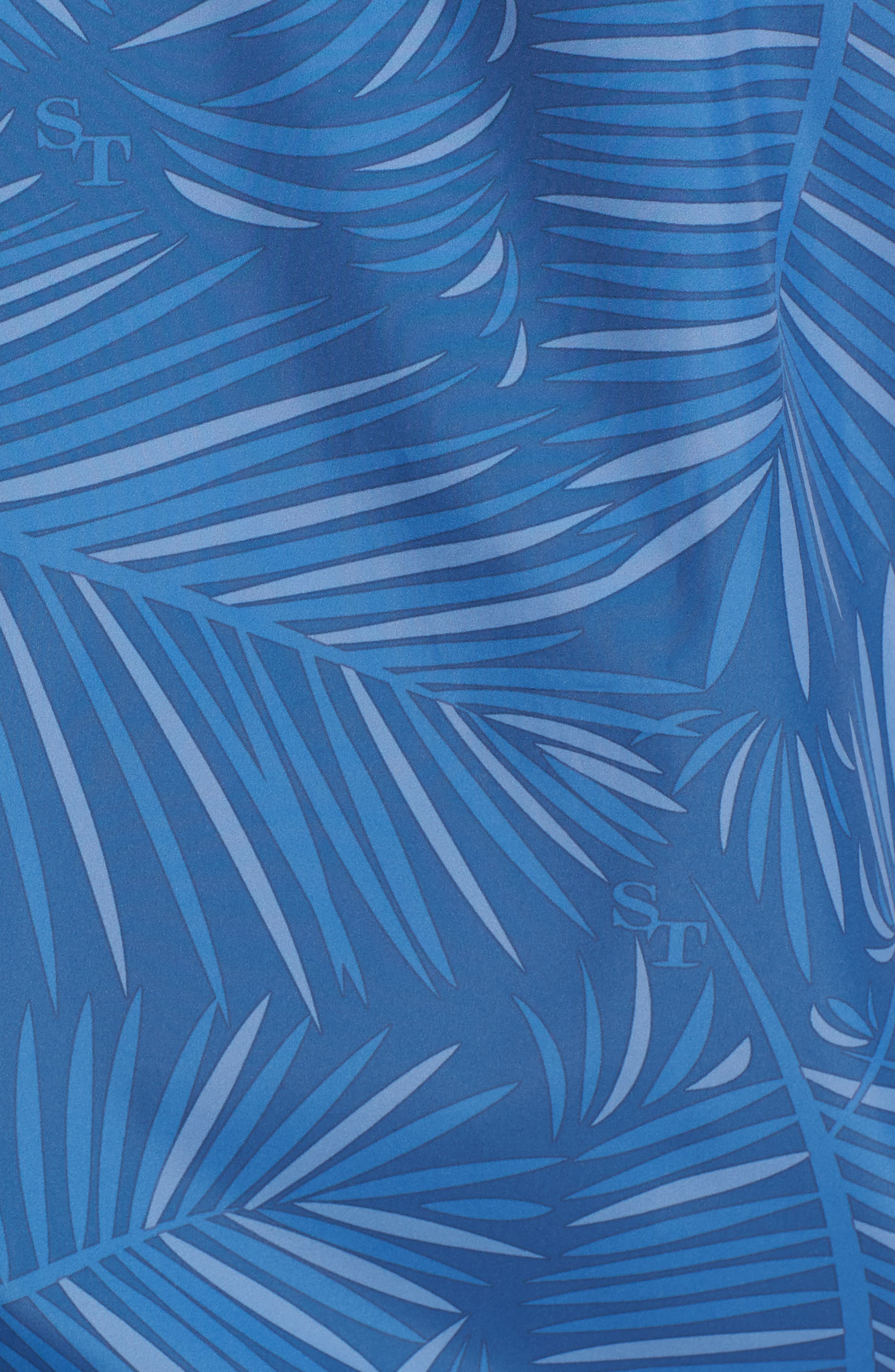 Pelican Peak Full Zip Hooded Jacket,                             Alternate thumbnail 5, color,                             Seven Seas Blue