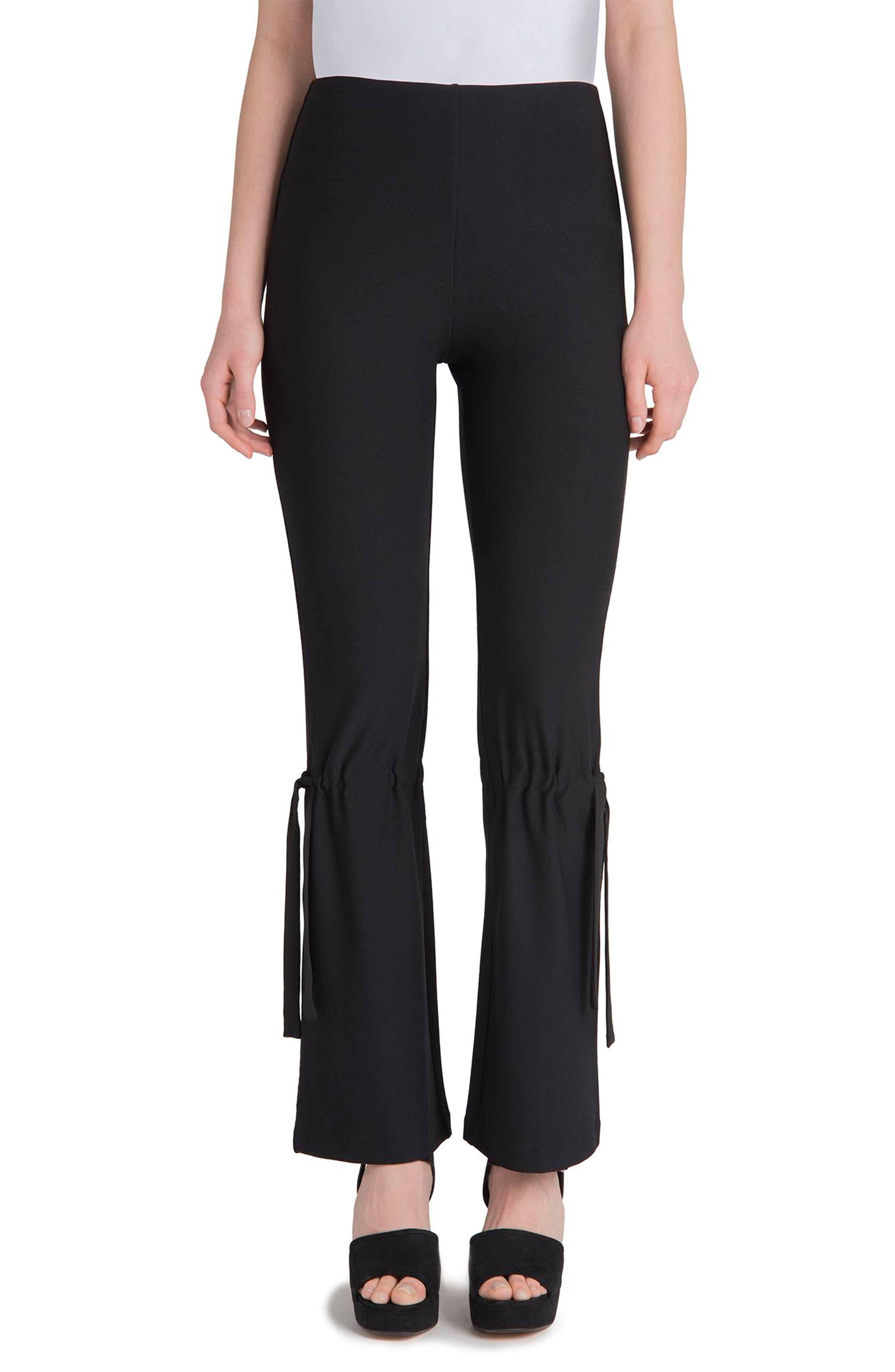 Arcadia High Waist Pants,                         Main,                         color, Black