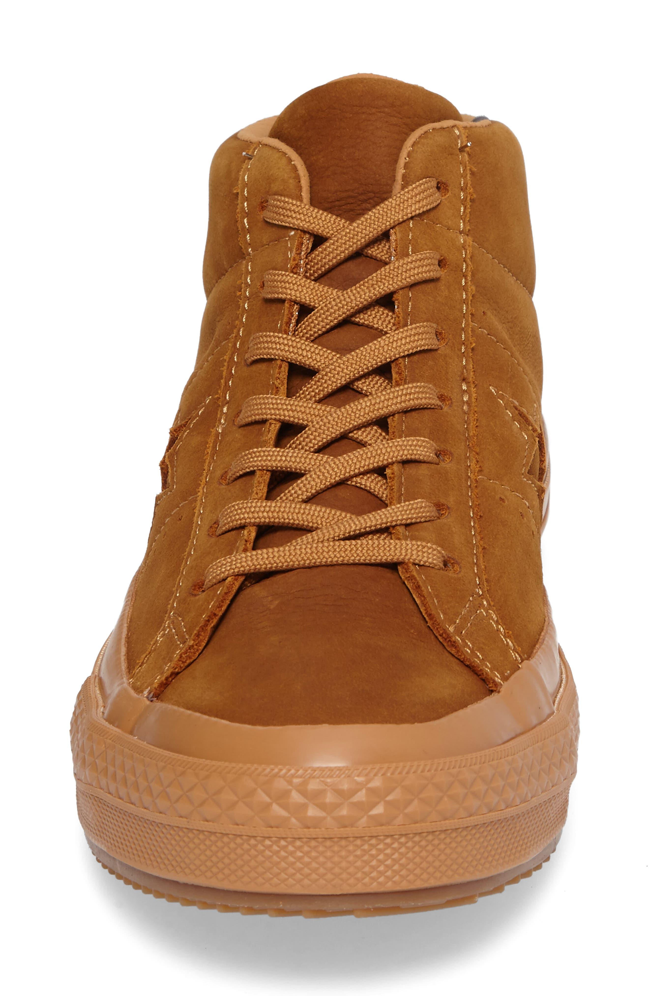 Alternate Image 4  - Converse One Star Mid Sneaker (Men)