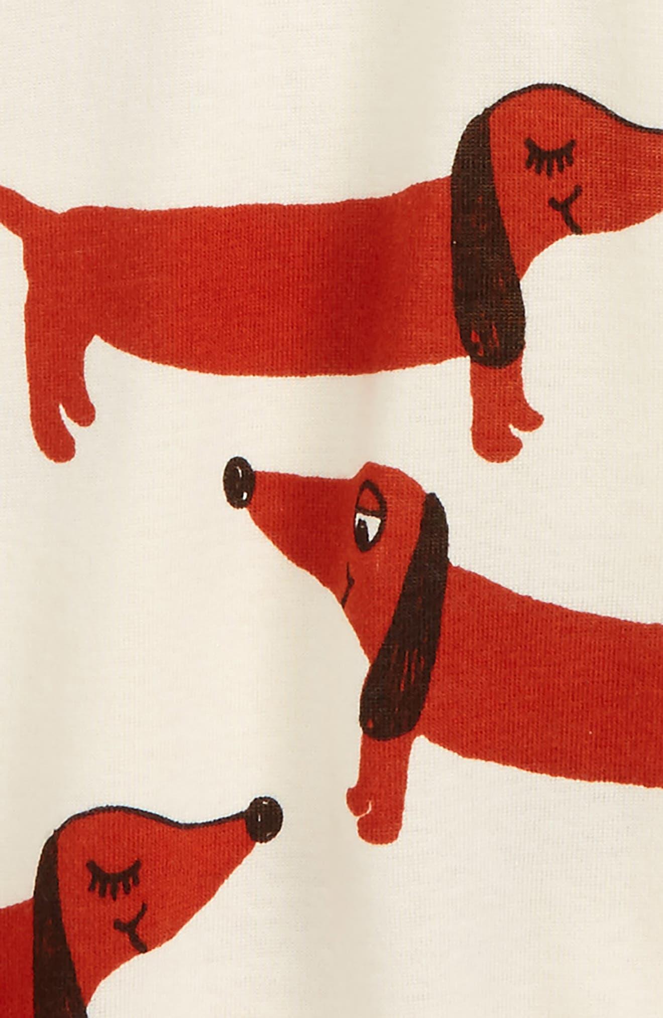 Alternate Image 2  - Mini Rodini Dog Graphic T-Shirt (Toddler Boys & Little Boys)