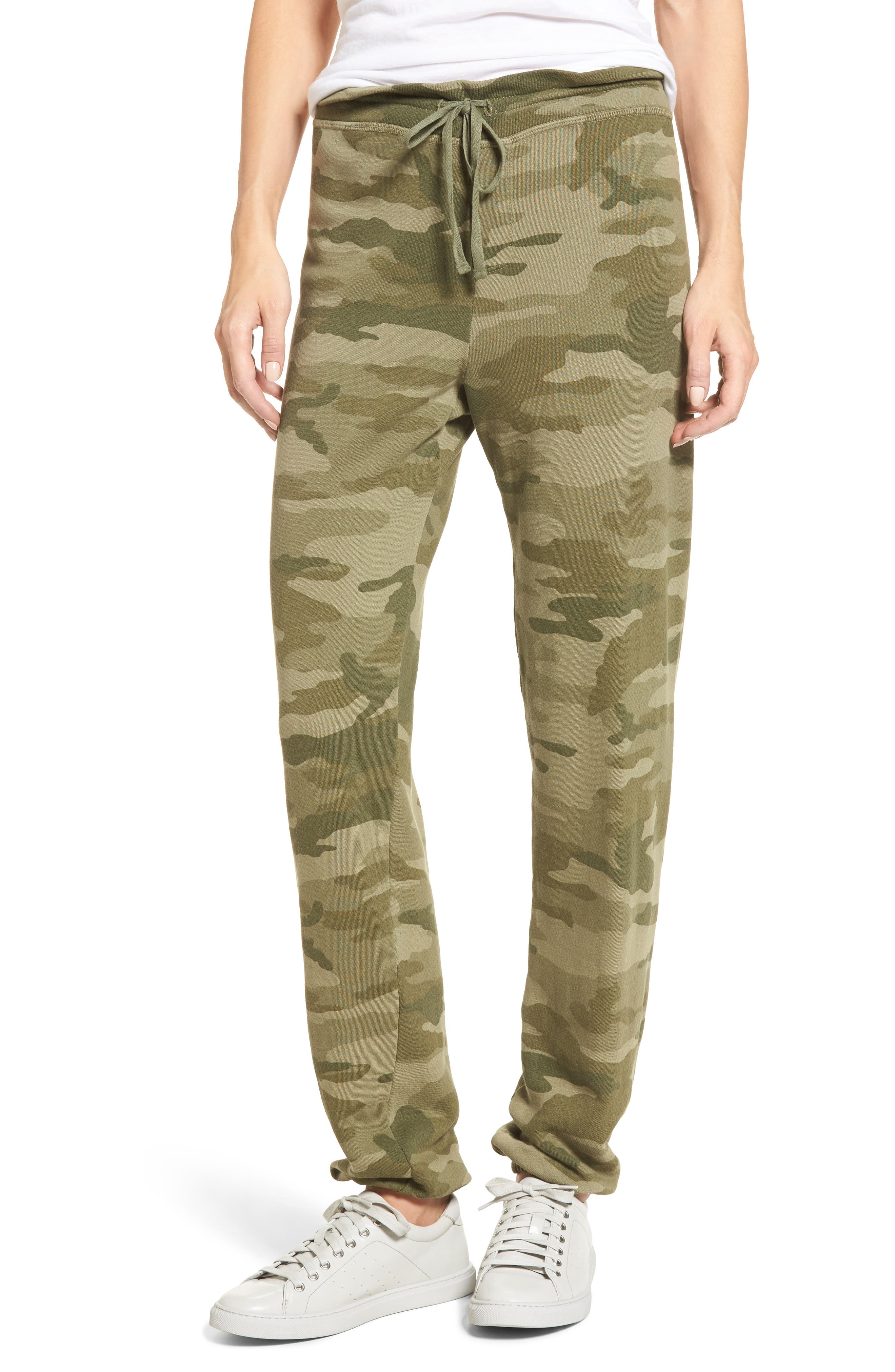 The Collegiate Sweatpants,                         Main,                         color, Essentials Camo