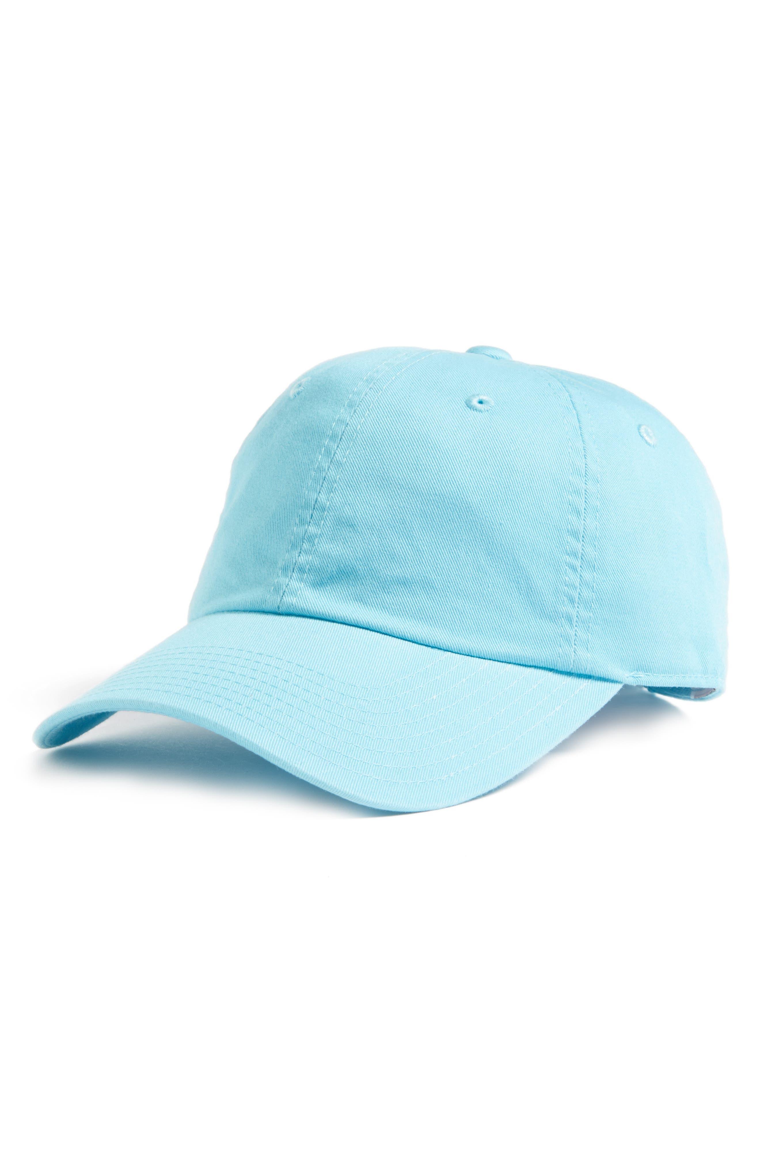 Washed Cotton Baseball Cap,                         Main,                         color, Tropiques